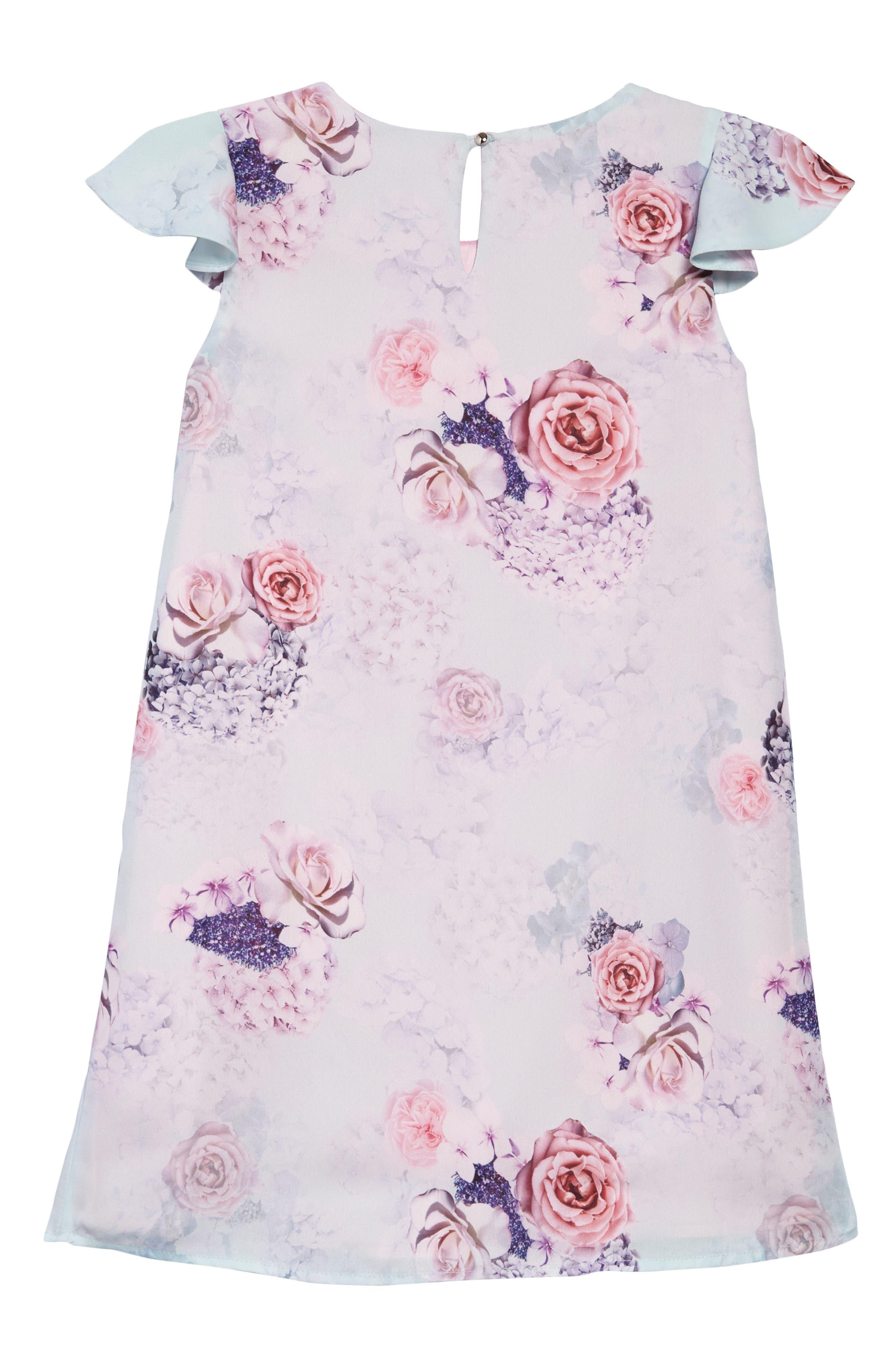 Hermione Chiffon Dress,                             Alternate thumbnail 2, color,                             300