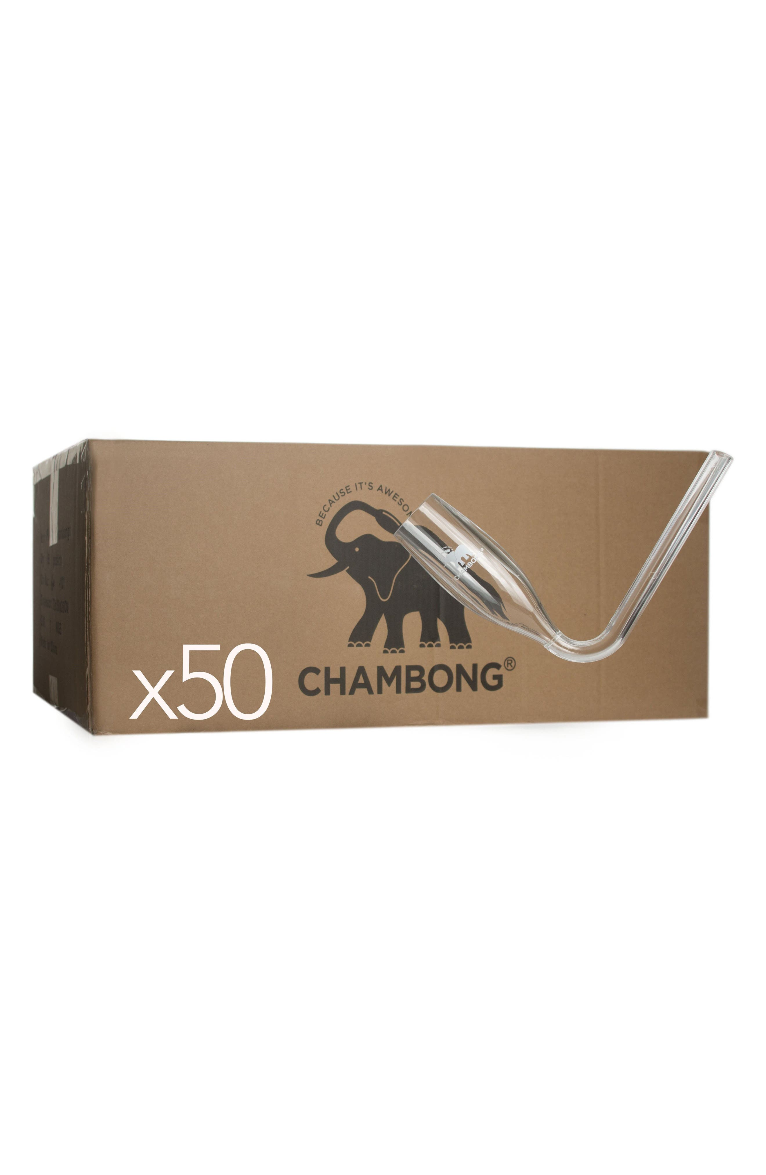 50-Pack Curved Champagne Glasses,                             Main thumbnail 1, color,