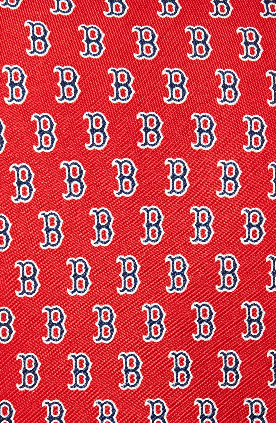 Boston Red Sox Silk Tie,                             Alternate thumbnail 6, color,