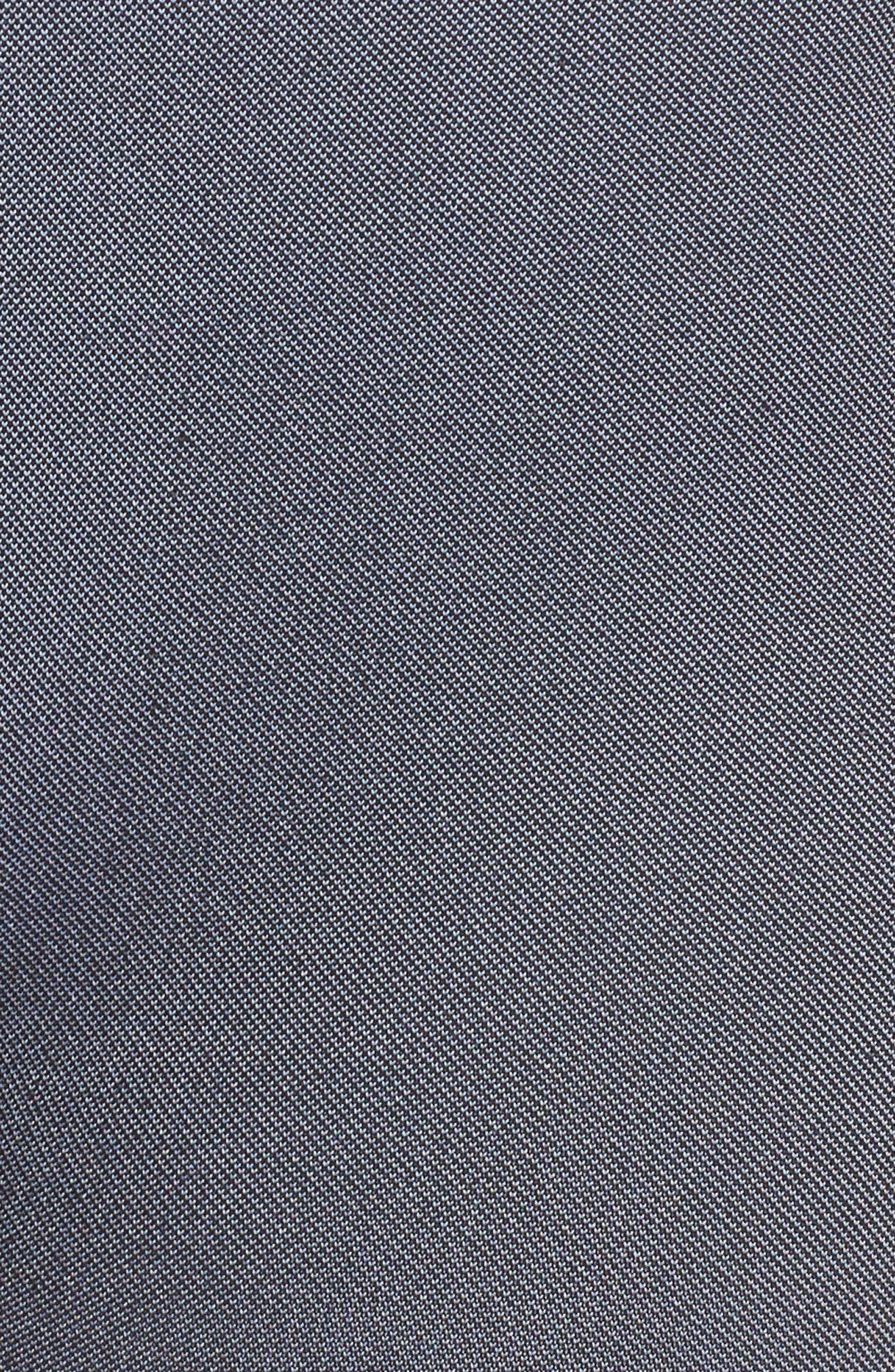 Score High Waist Leggings,                             Alternate thumbnail 6, color,                             BLACK/ GREY
