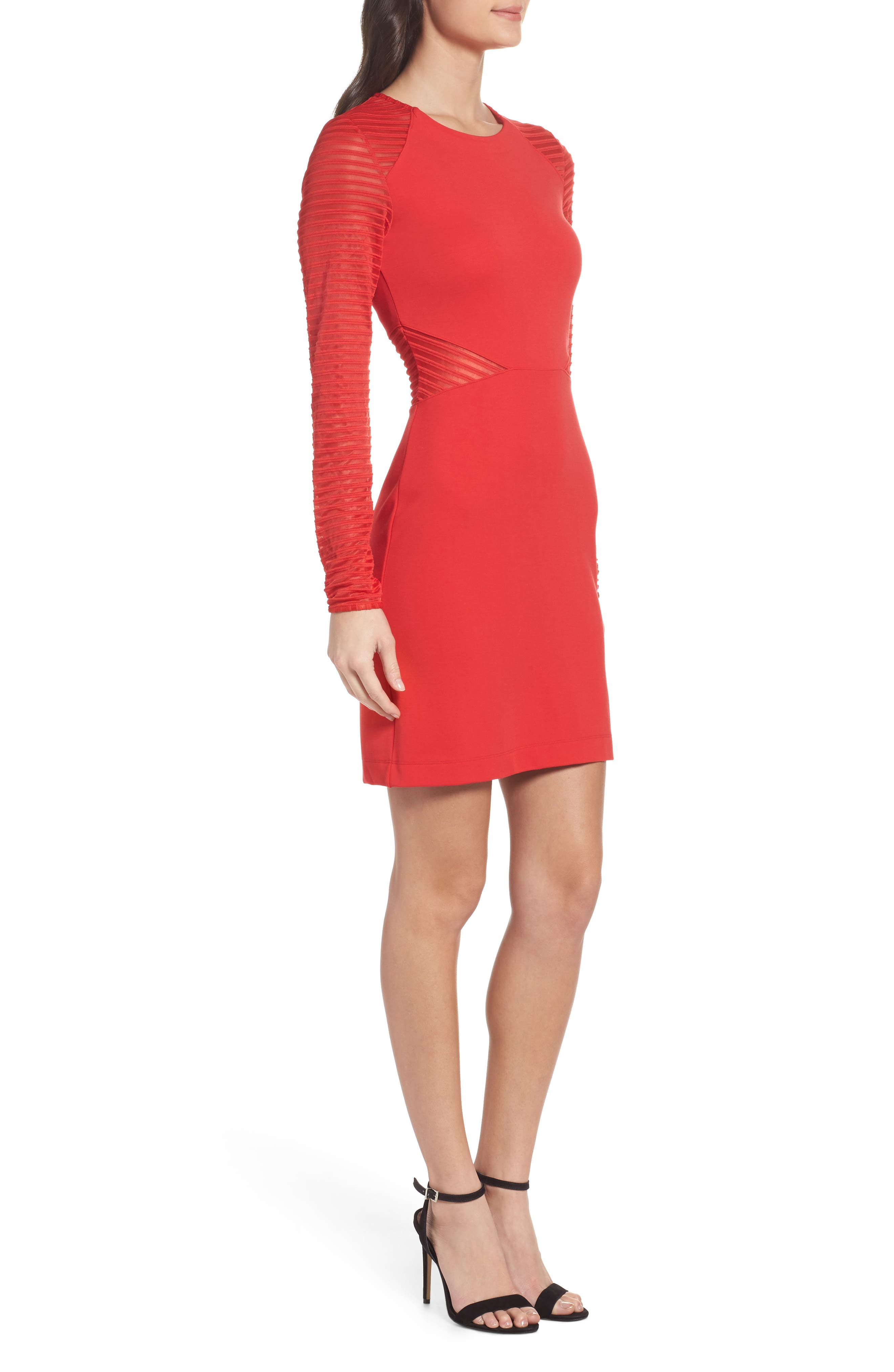 Thiestis Body-Con Dress,                             Alternate thumbnail 6, color,