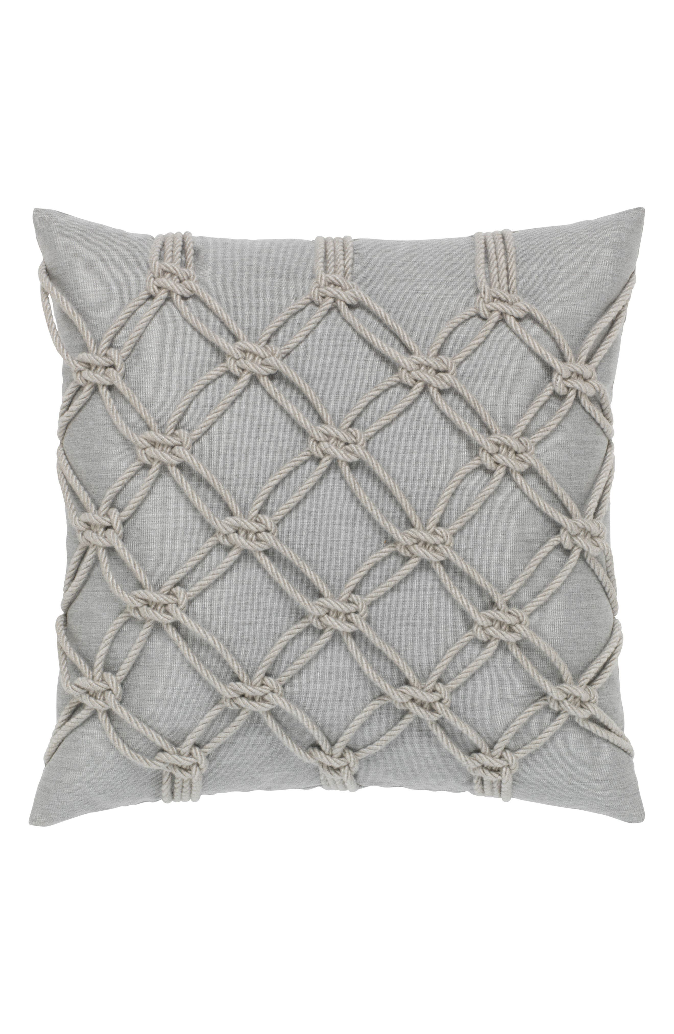Granite Rope Indoor/Outdoor Accent Pillow,                             Main thumbnail 1, color,                             020
