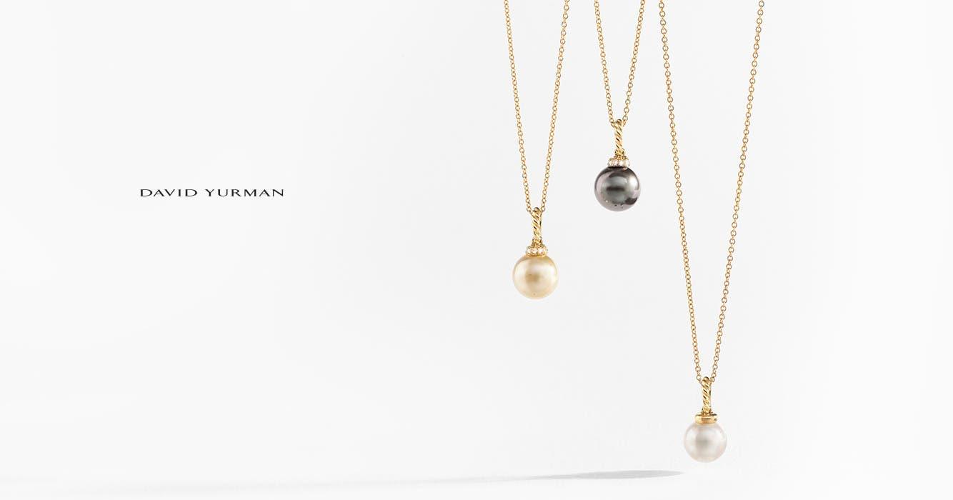 David Yurman Solari necklaces.