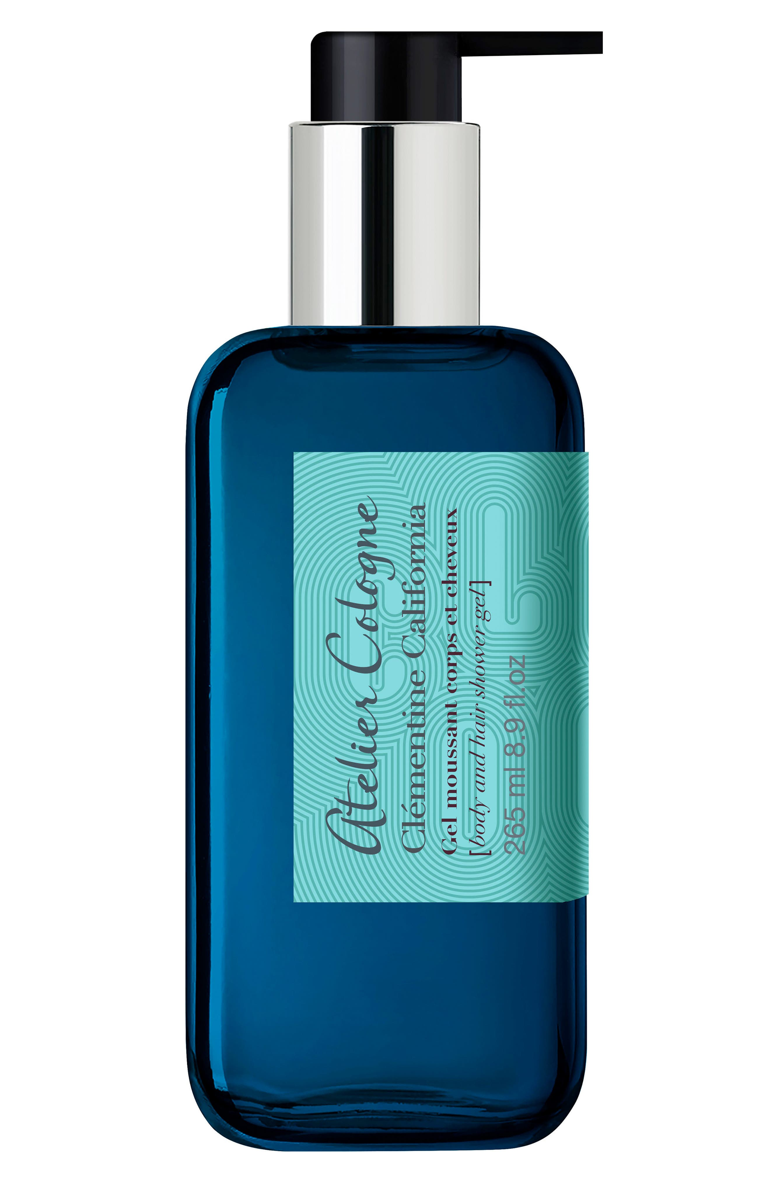 Clémentine California Body & Hair Shower Gel,                             Main thumbnail 1, color,                             NO COLOR