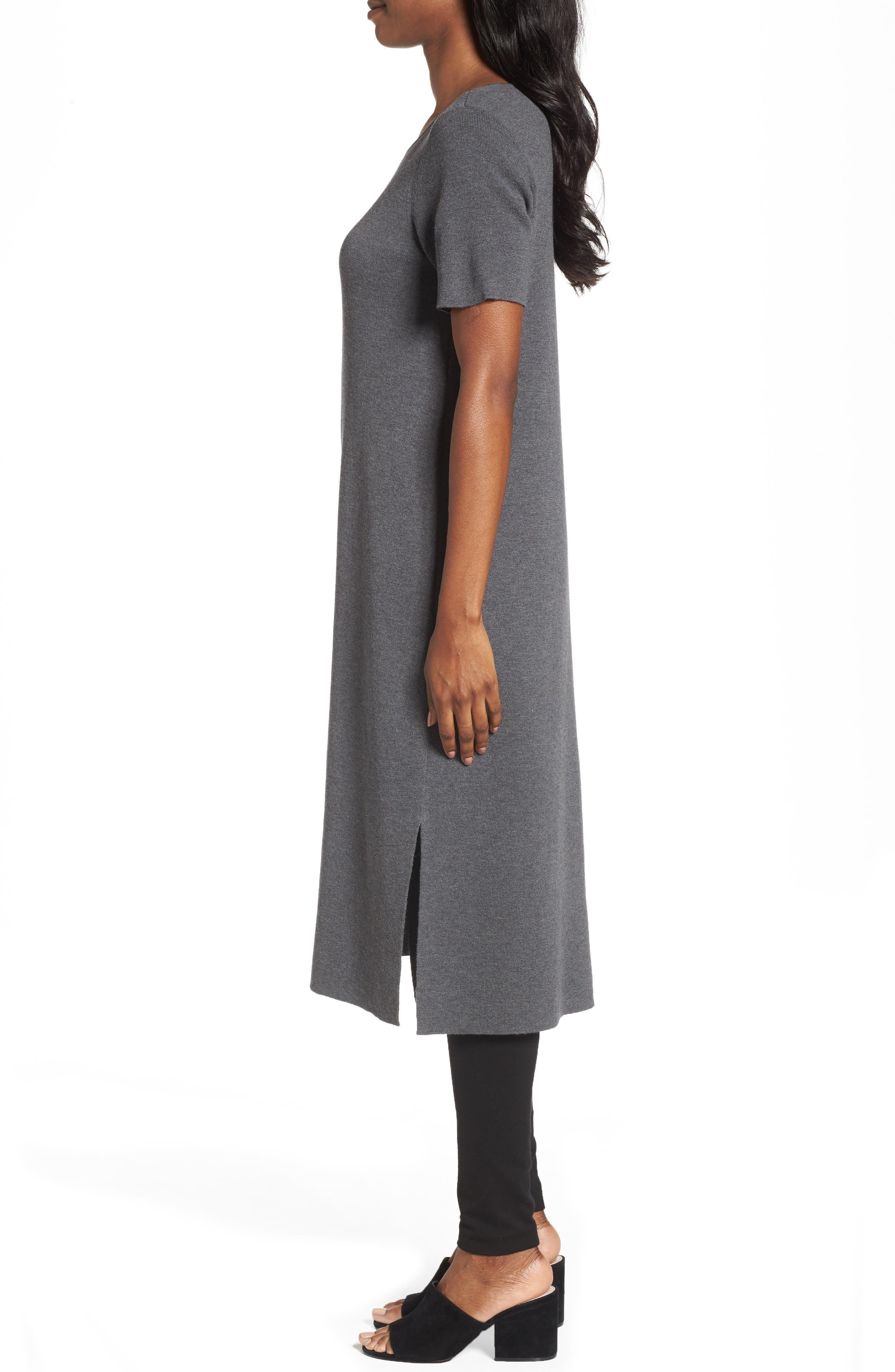 Long Wool Knit Tunic,                             Alternate thumbnail 6, color,