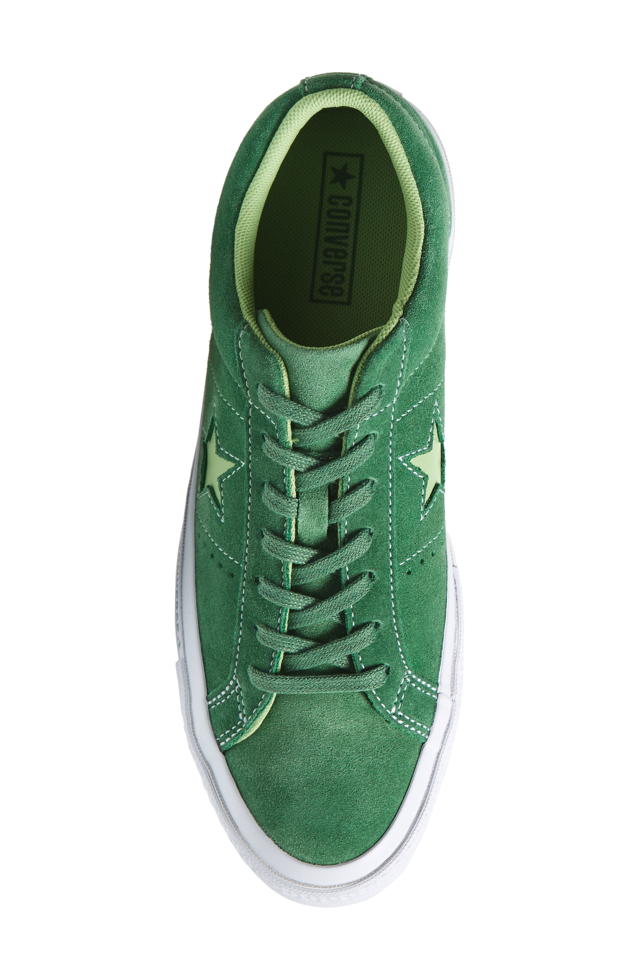 Chuck Taylor<sup>®</sup> One Star Pinstripe Sneaker,                             Alternate thumbnail 5, color,                             350