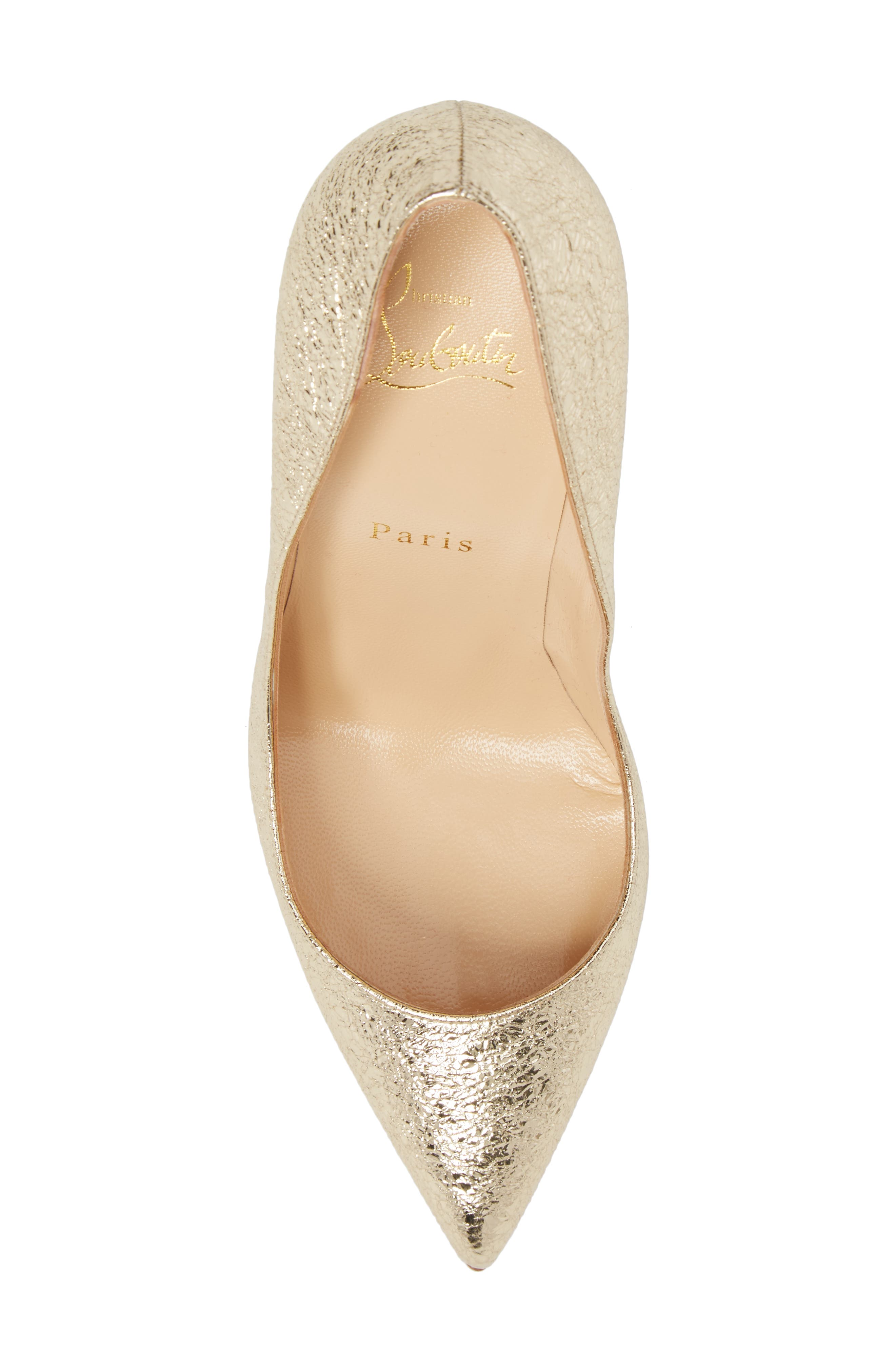 Pigalle Follies Pointy Toe Pump,                             Alternate thumbnail 5, color,                             040