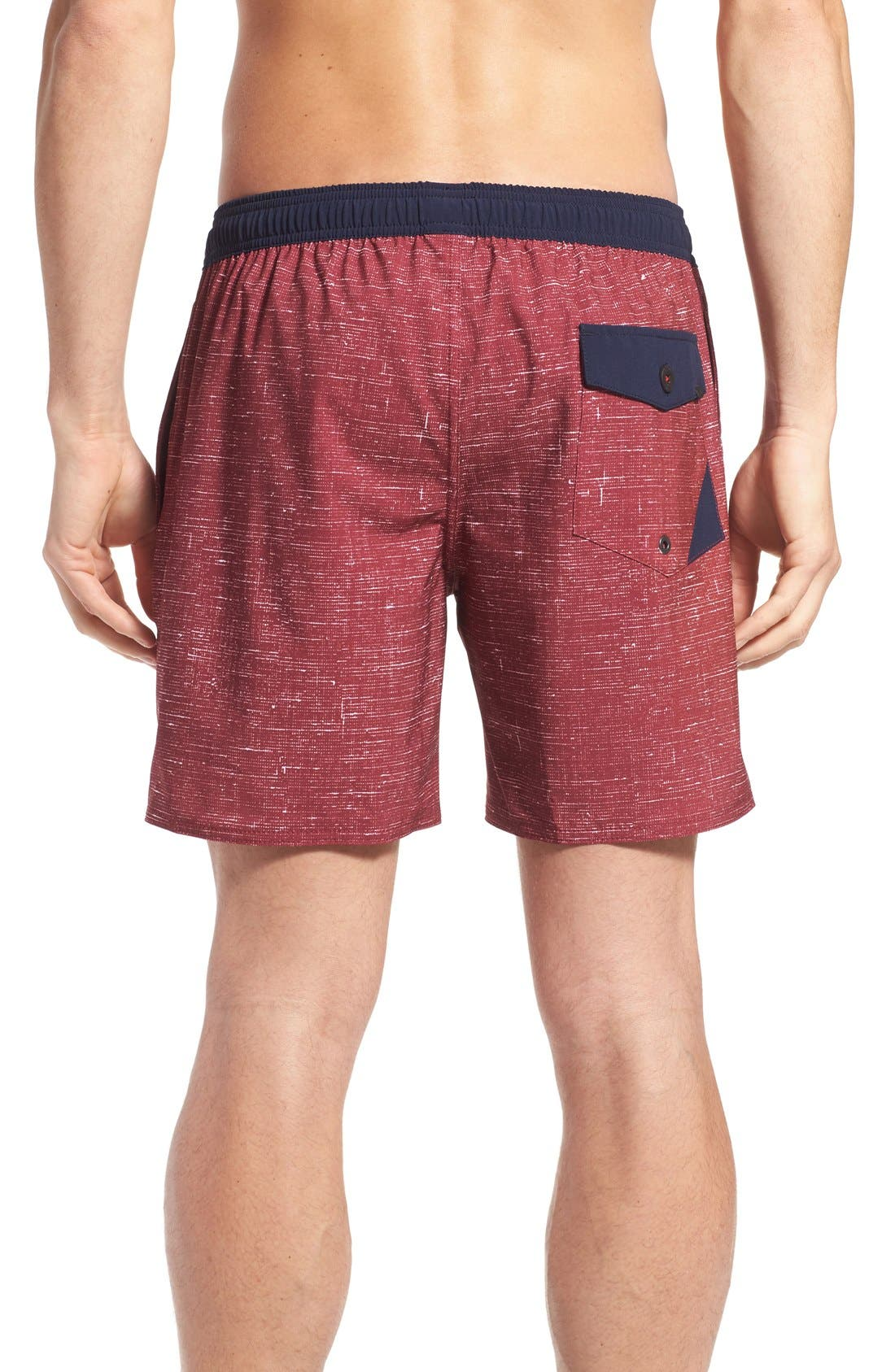 'Spencer' Swim Trunks,                             Alternate thumbnail 4, color,                             200