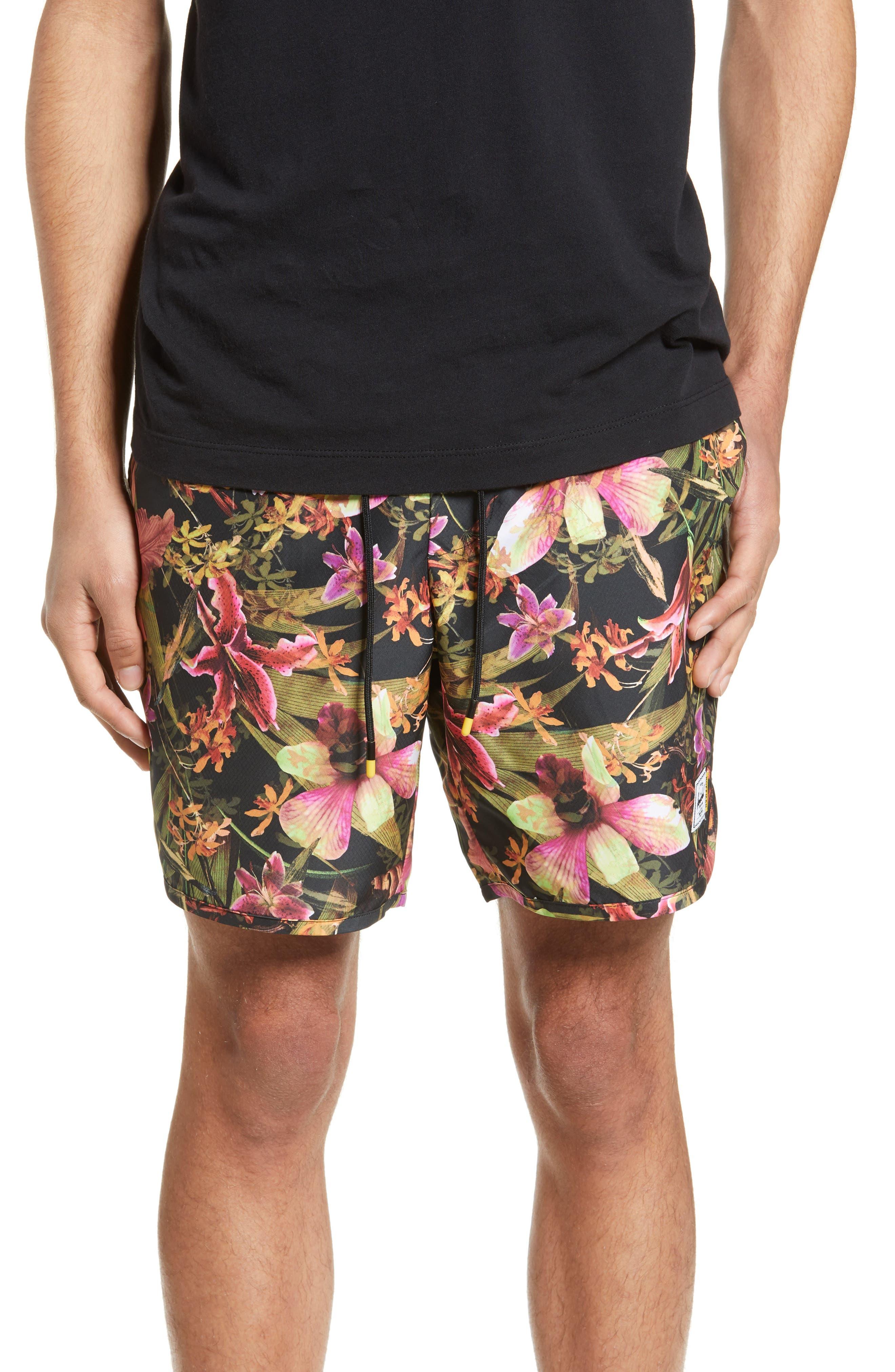Herschel Supply Co. Voyage Alta Shorts, Pink