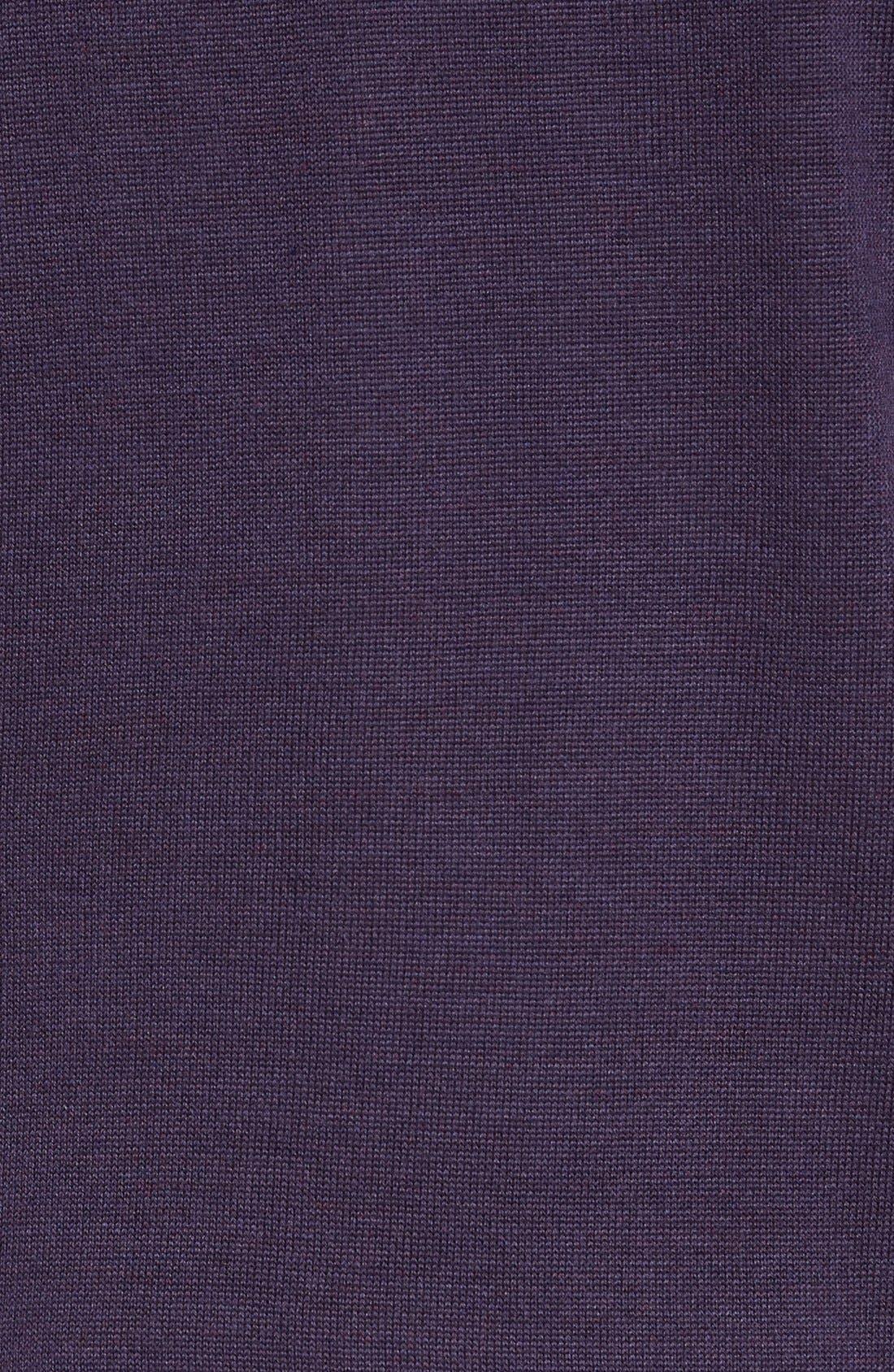 Douglas Quarter Zip Wool Blend Sweater,                             Alternate thumbnail 29, color,
