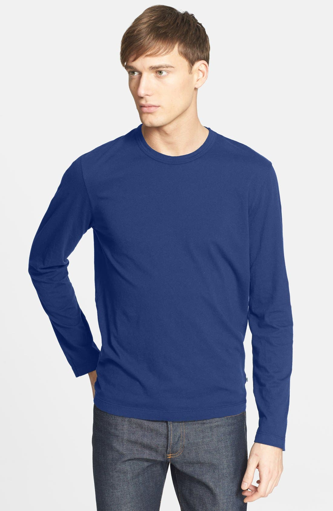 Long Sleeve Crewneck T-Shirt,                             Main thumbnail 23, color,