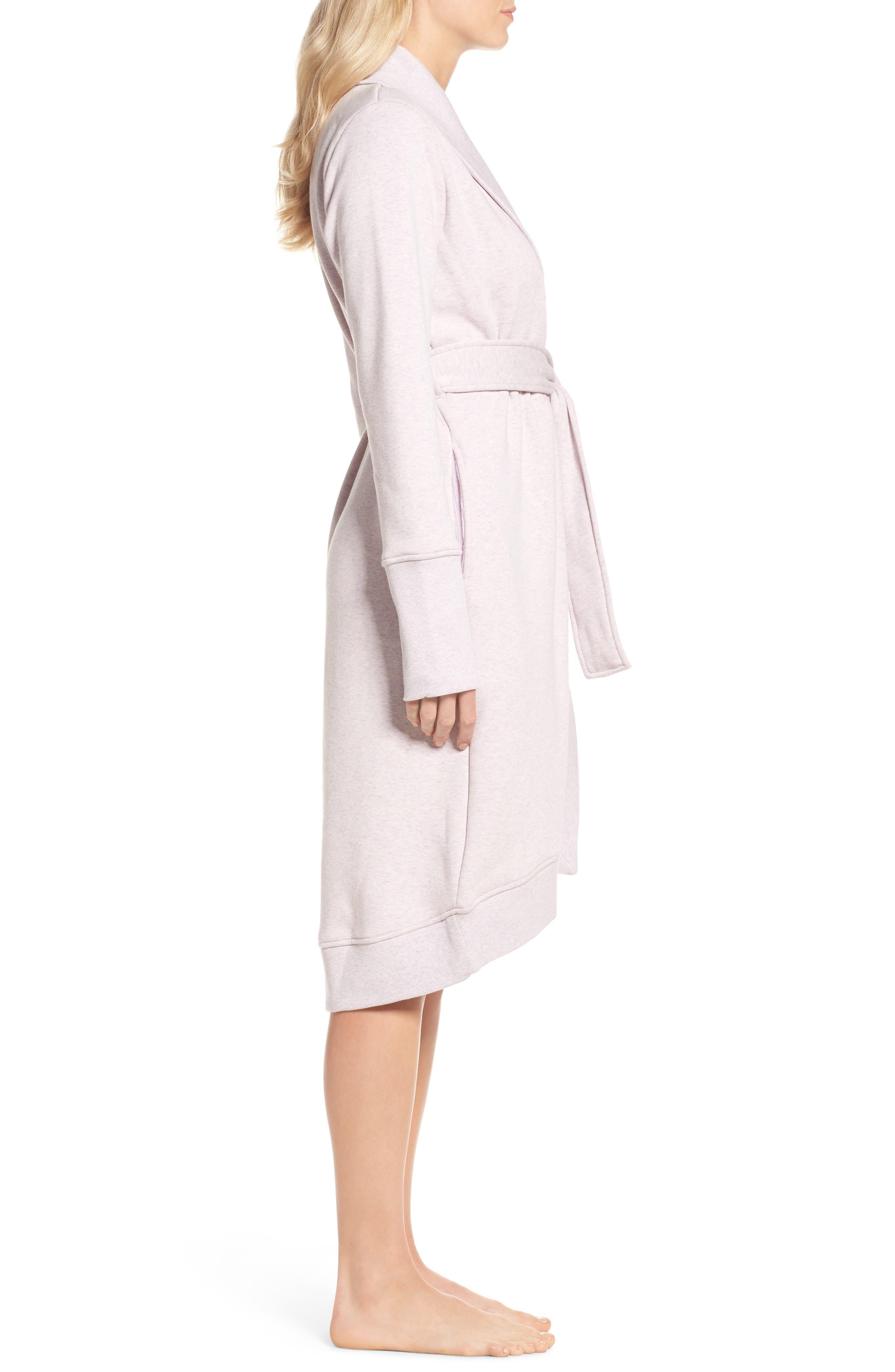 'Karoline' Fleece Robe,                             Alternate thumbnail 3, color,                             650