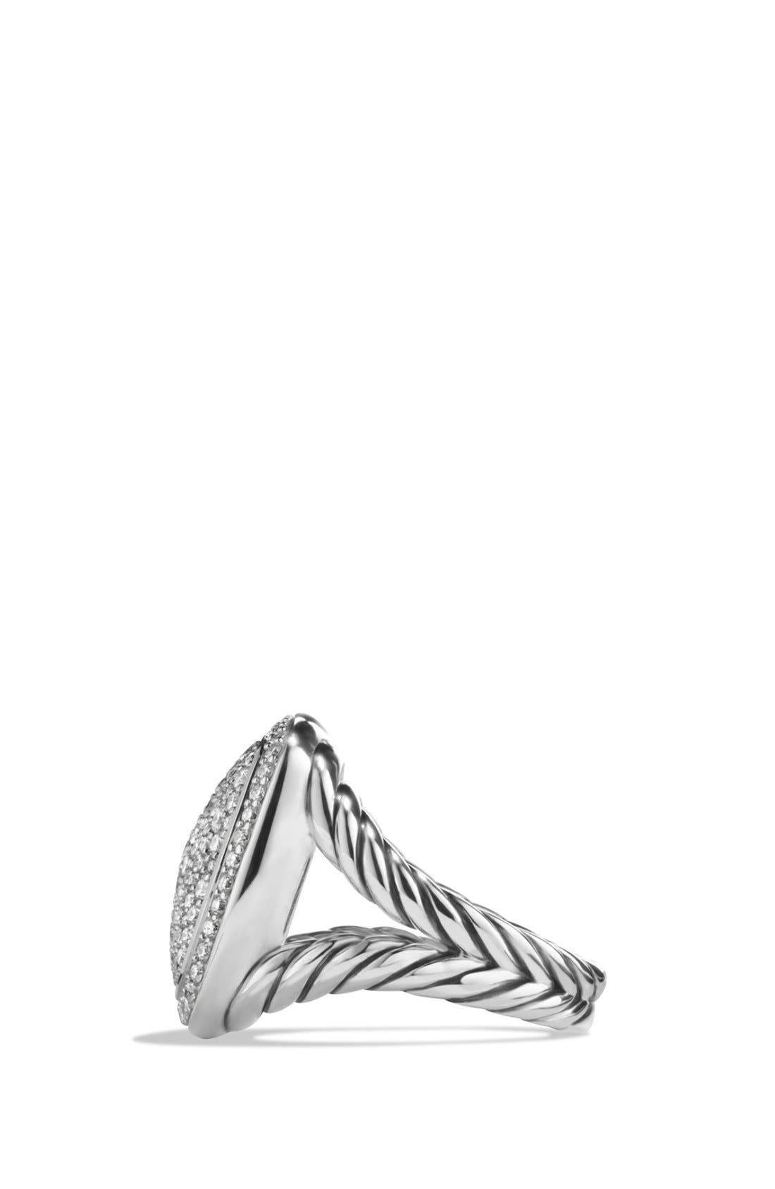 Albion Ring with Diamonds,                             Alternate thumbnail 3, color,                             DIAMOND
