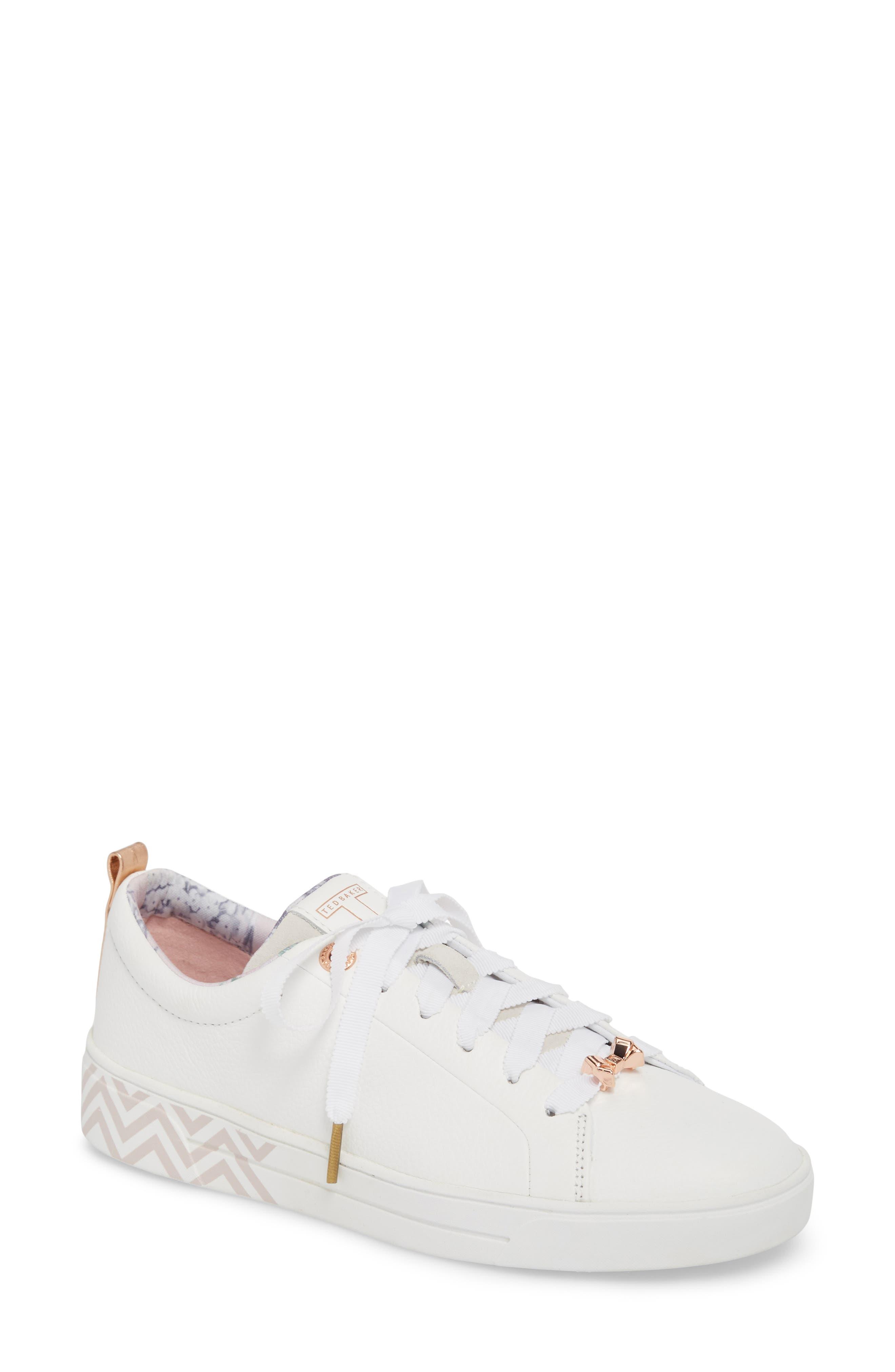 Kelleip Sneaker,                             Main thumbnail 1, color,                             PALACE GARDENS PRINT LEATHER
