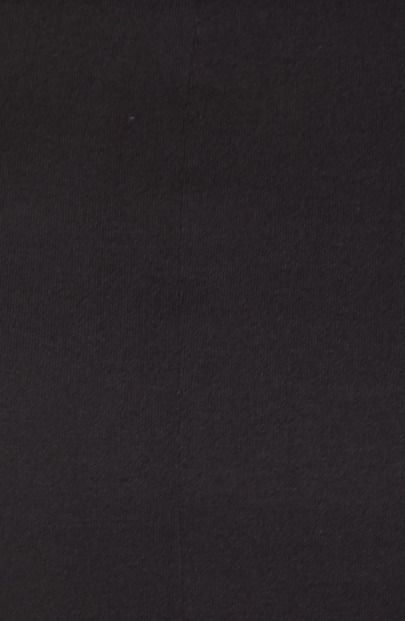 Stretch Jersey Midi Dress,                             Alternate thumbnail 6, color,