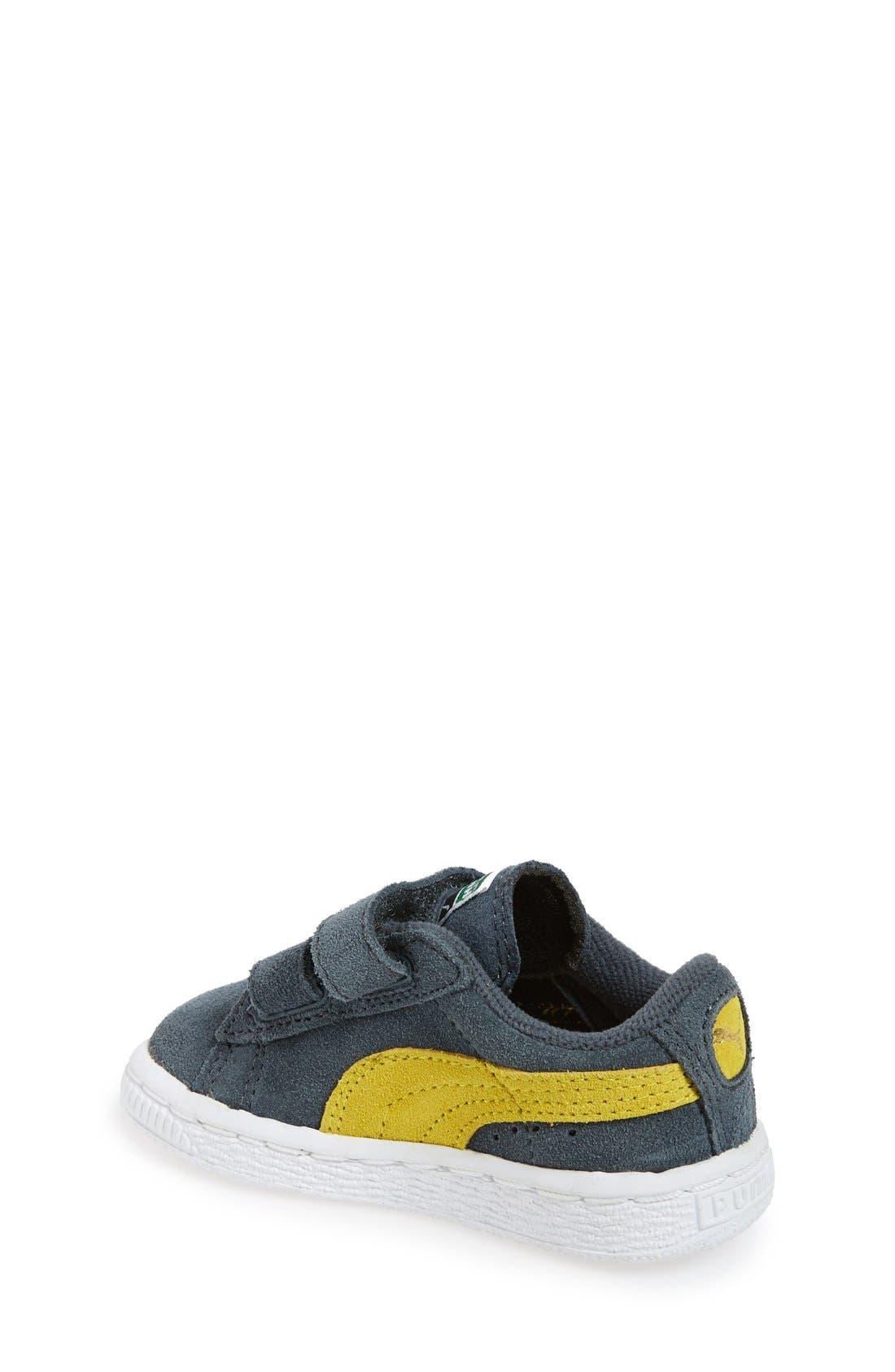 Suede Sneaker,                             Alternate thumbnail 14, color,