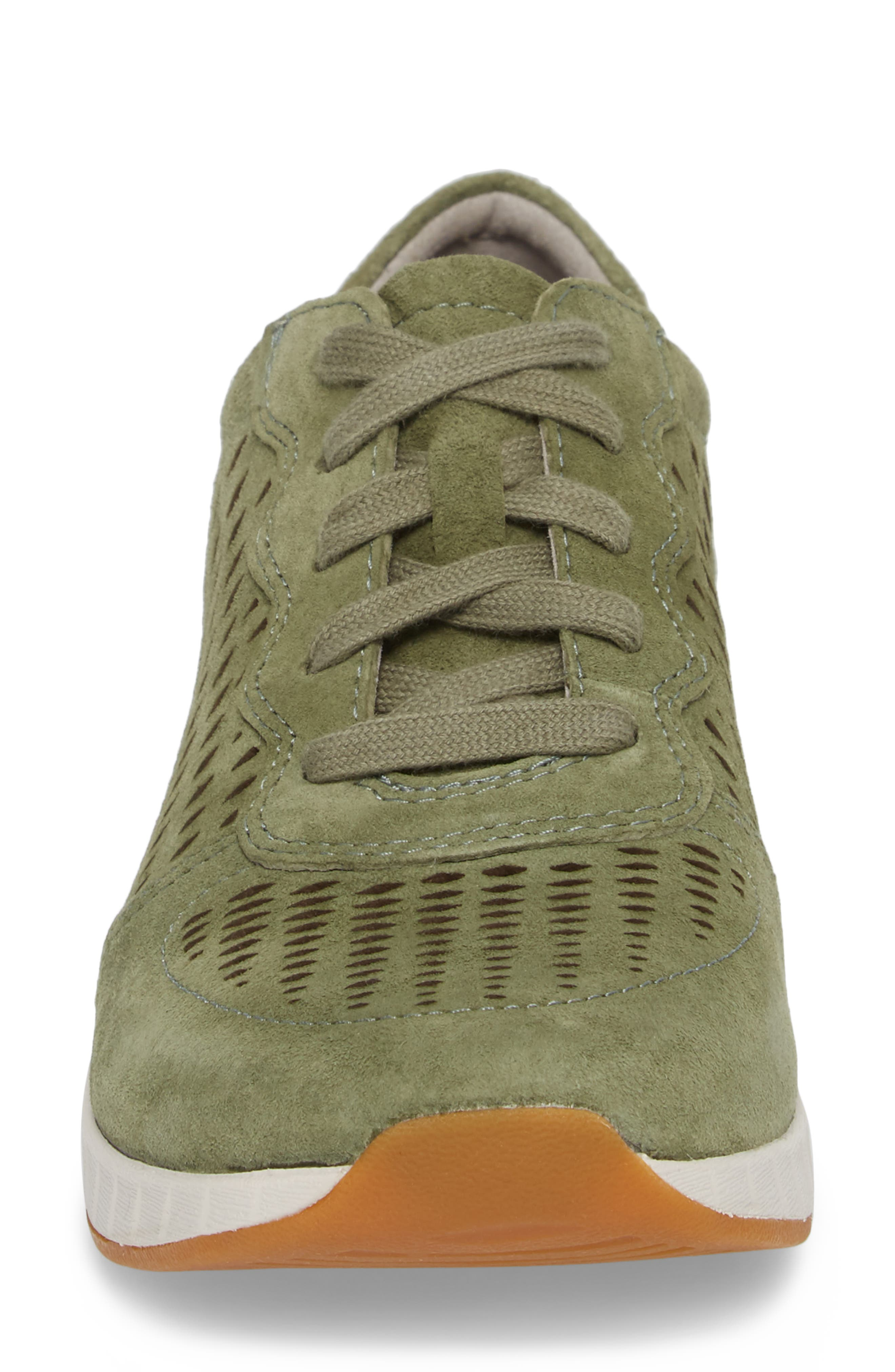 Charlie Perforated Sneaker,                             Alternate thumbnail 4, color,                             309