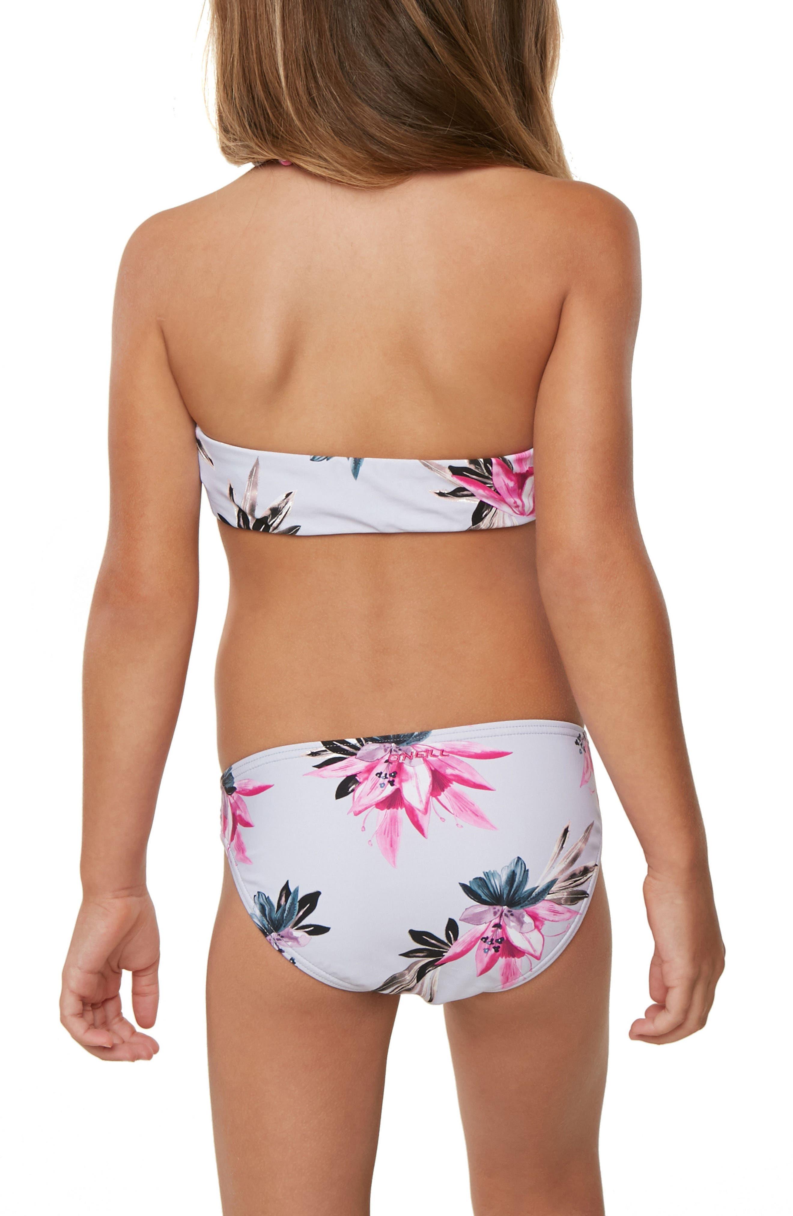 Mini Sydney Two-Piece Swimsuit,                             Alternate thumbnail 4, color,                             HORIZON