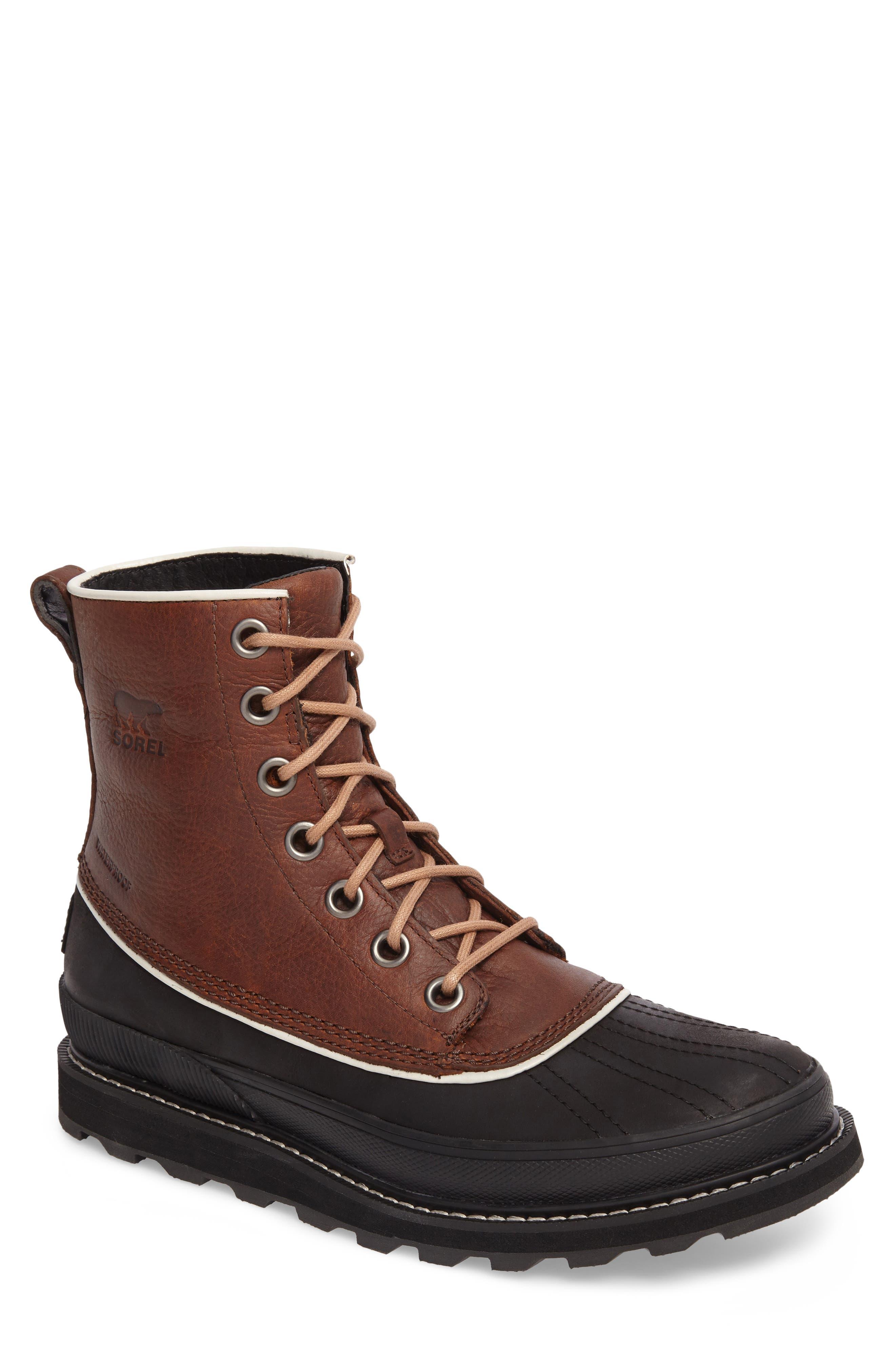 Sorel Madson 1964 Waterproof Boot, Brown