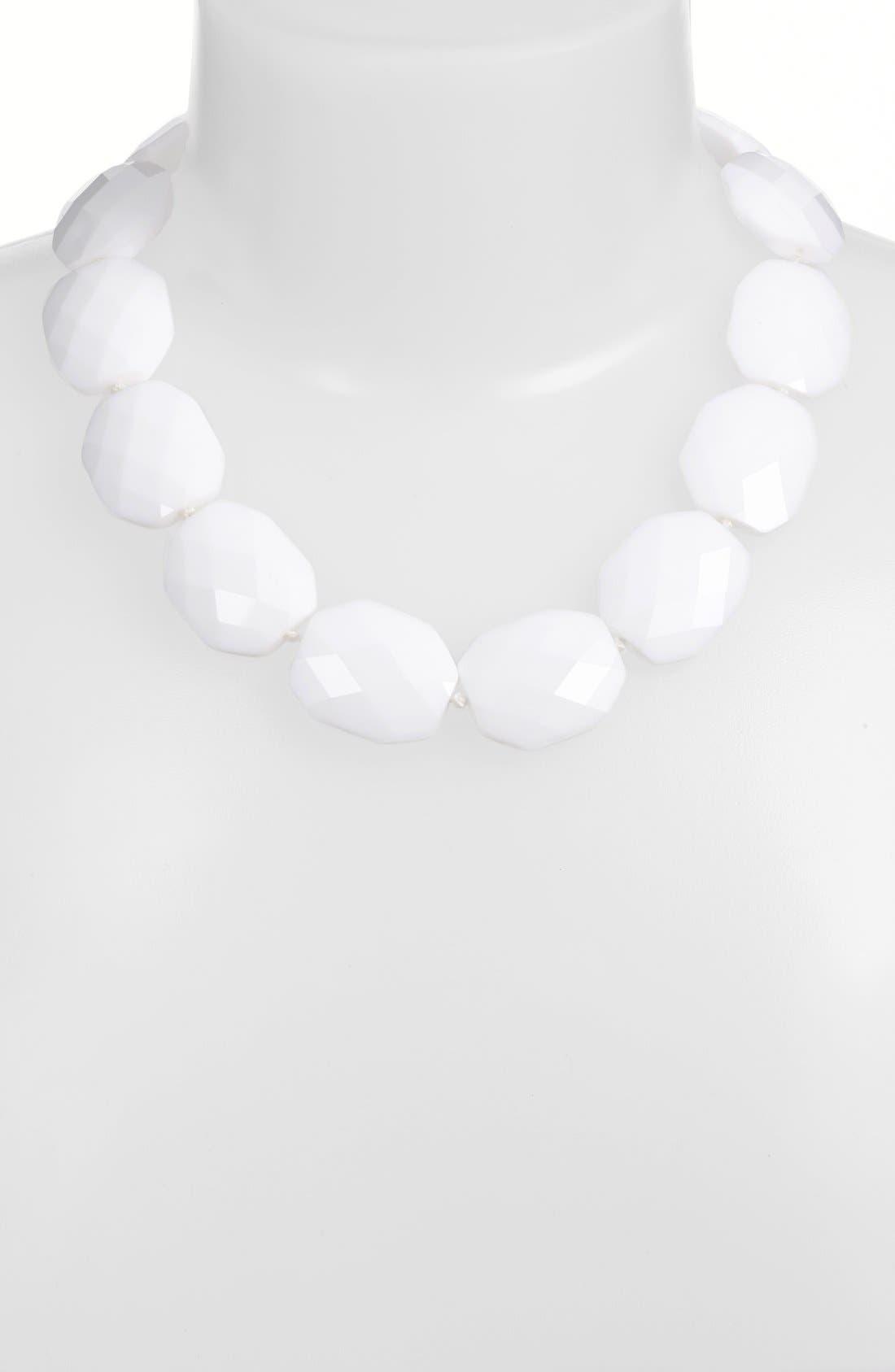 LAUREN RALPH LAUREN,                             Stone Collar Necklace,                             Alternate thumbnail 2, color,                             100
