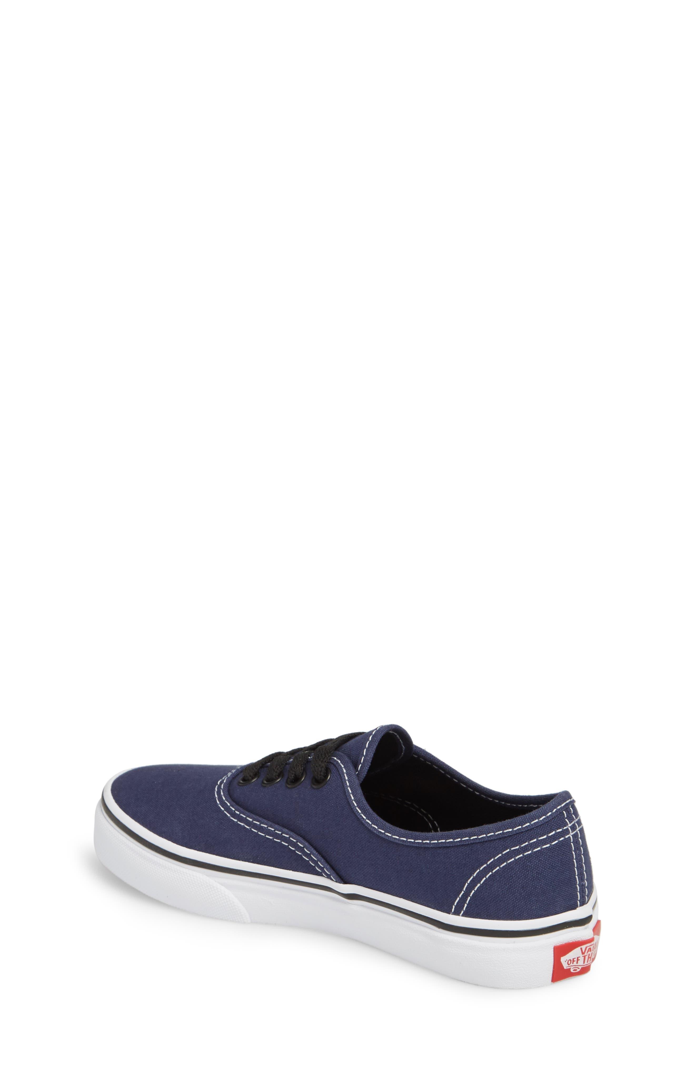 Authentic Sneaker,                             Alternate thumbnail 2, color,                             MEDIEVAL BLUE/ BLACK