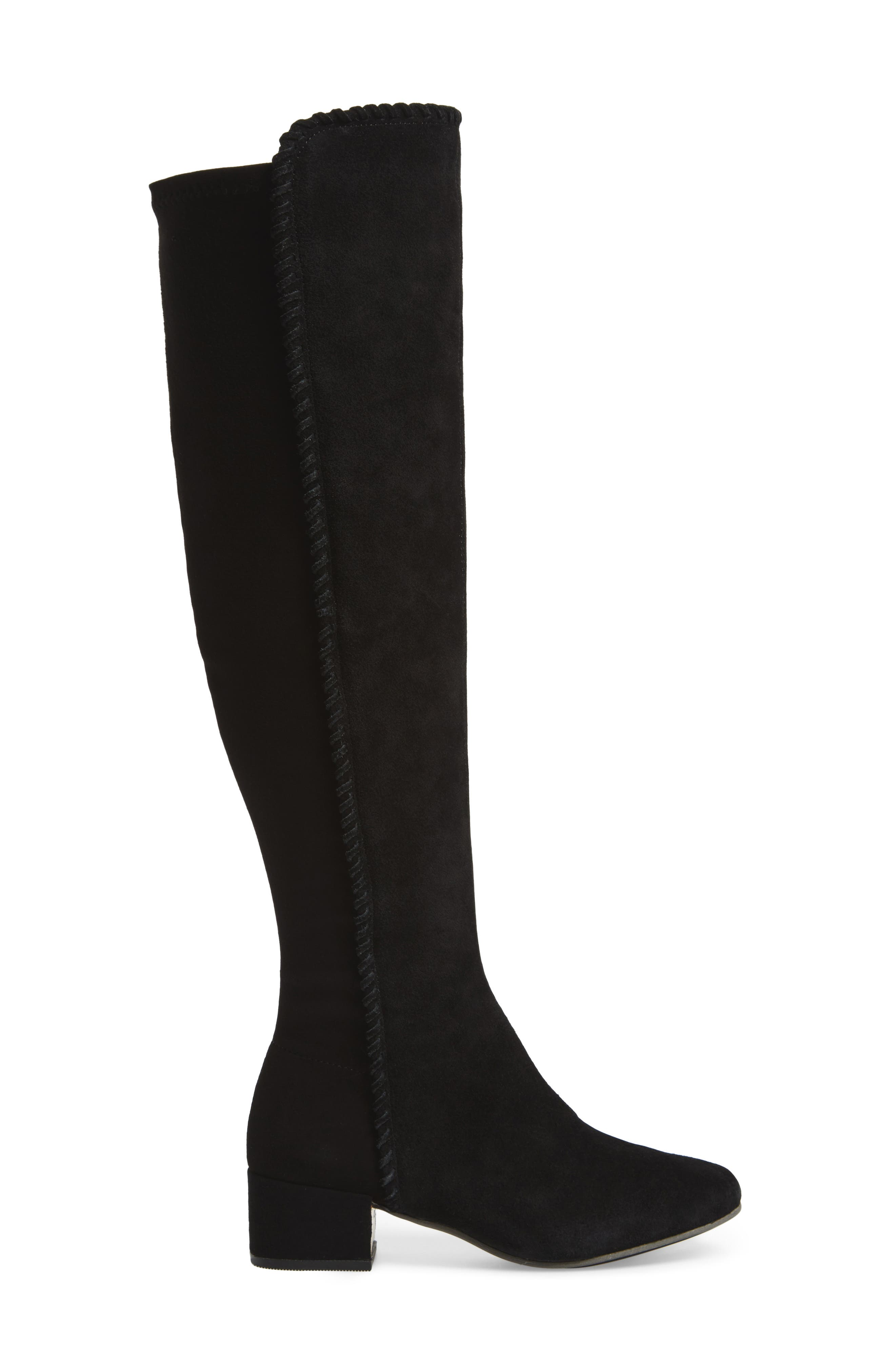 Emery Over the Knee Boot,                             Alternate thumbnail 3, color,                             001