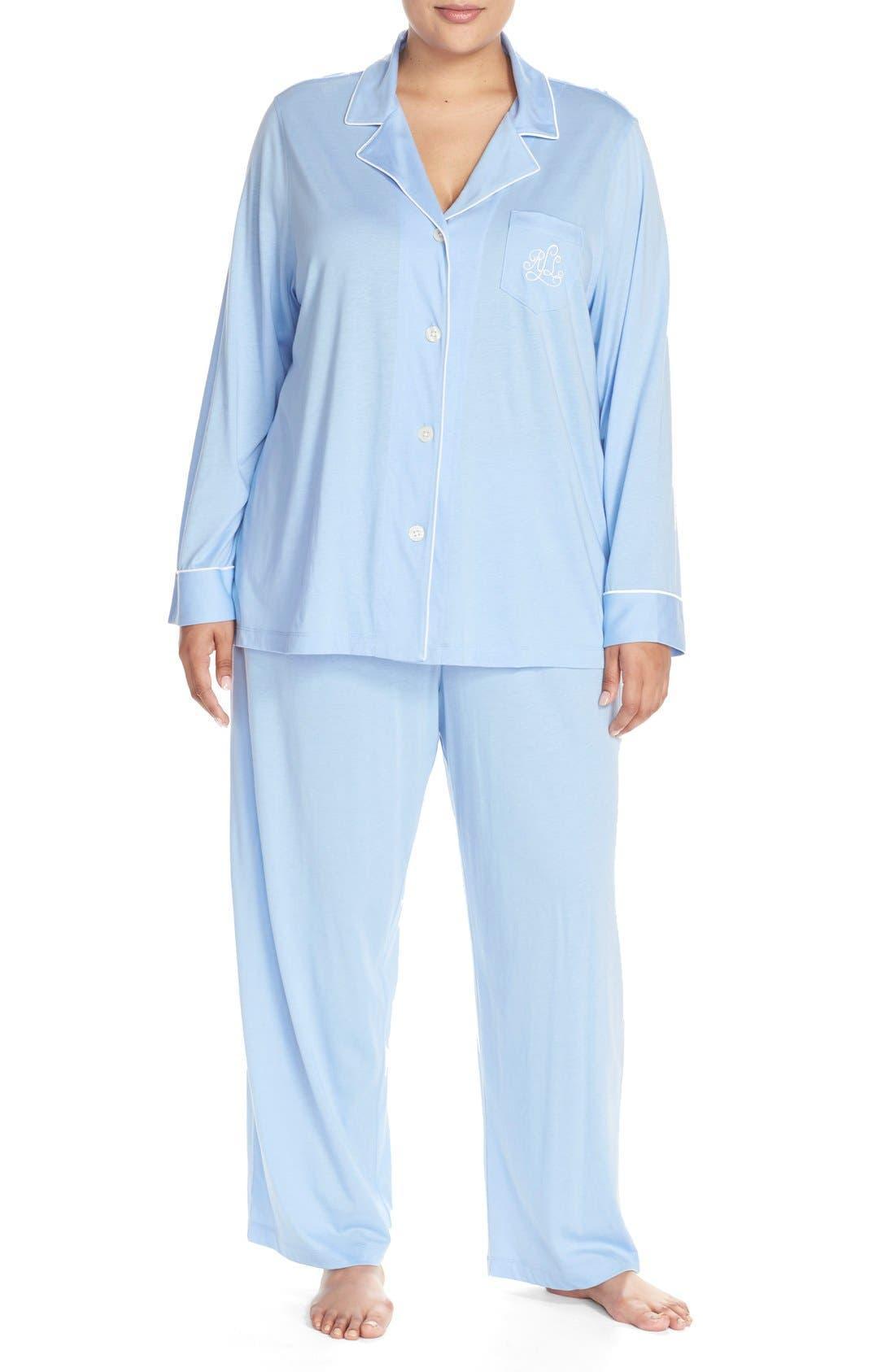 Knit Pajamas,                             Main thumbnail 7, color,