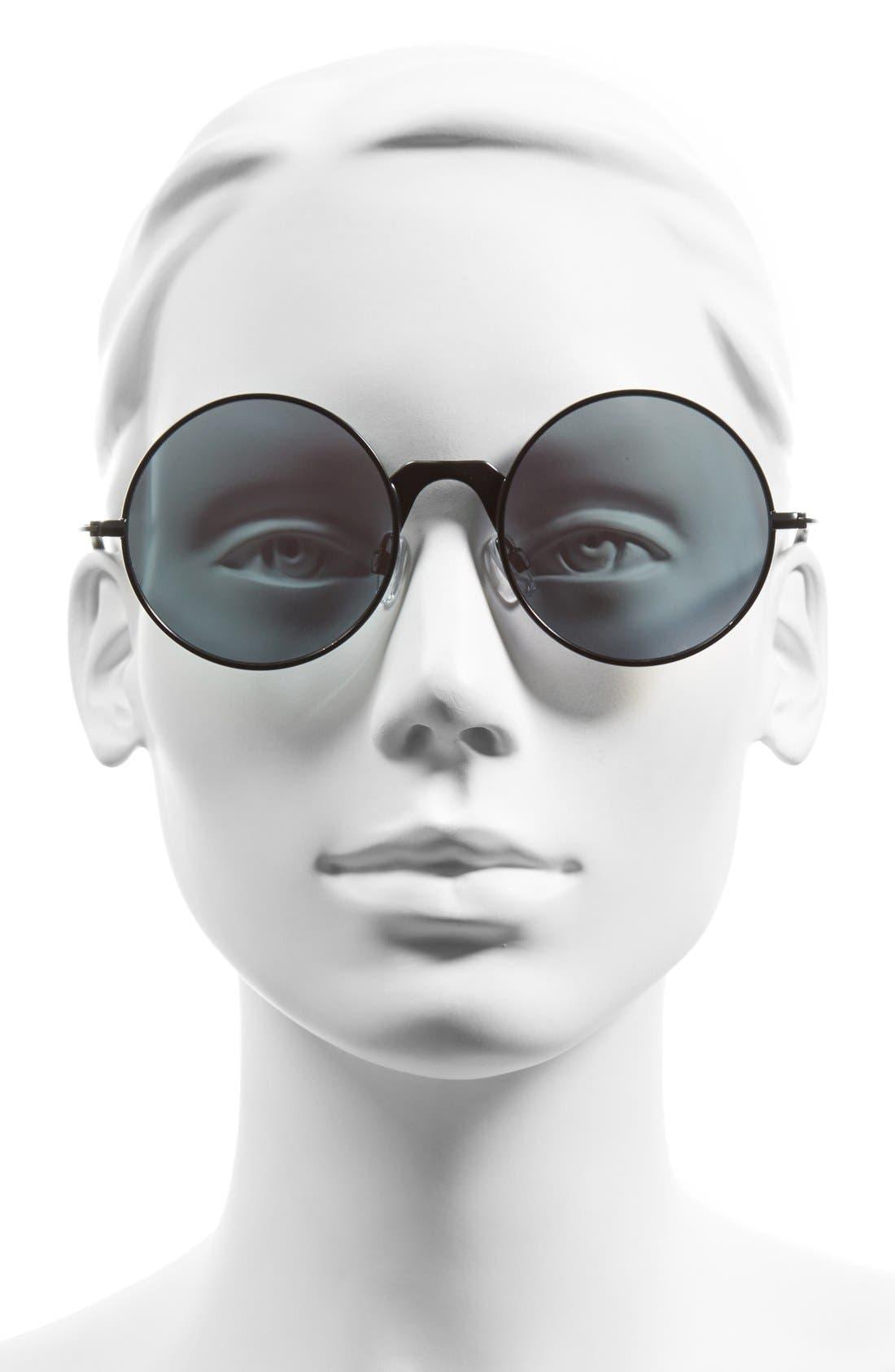 'Poolside Punk' 53mm Retro Sunglasses,                             Alternate thumbnail 2, color,                             001