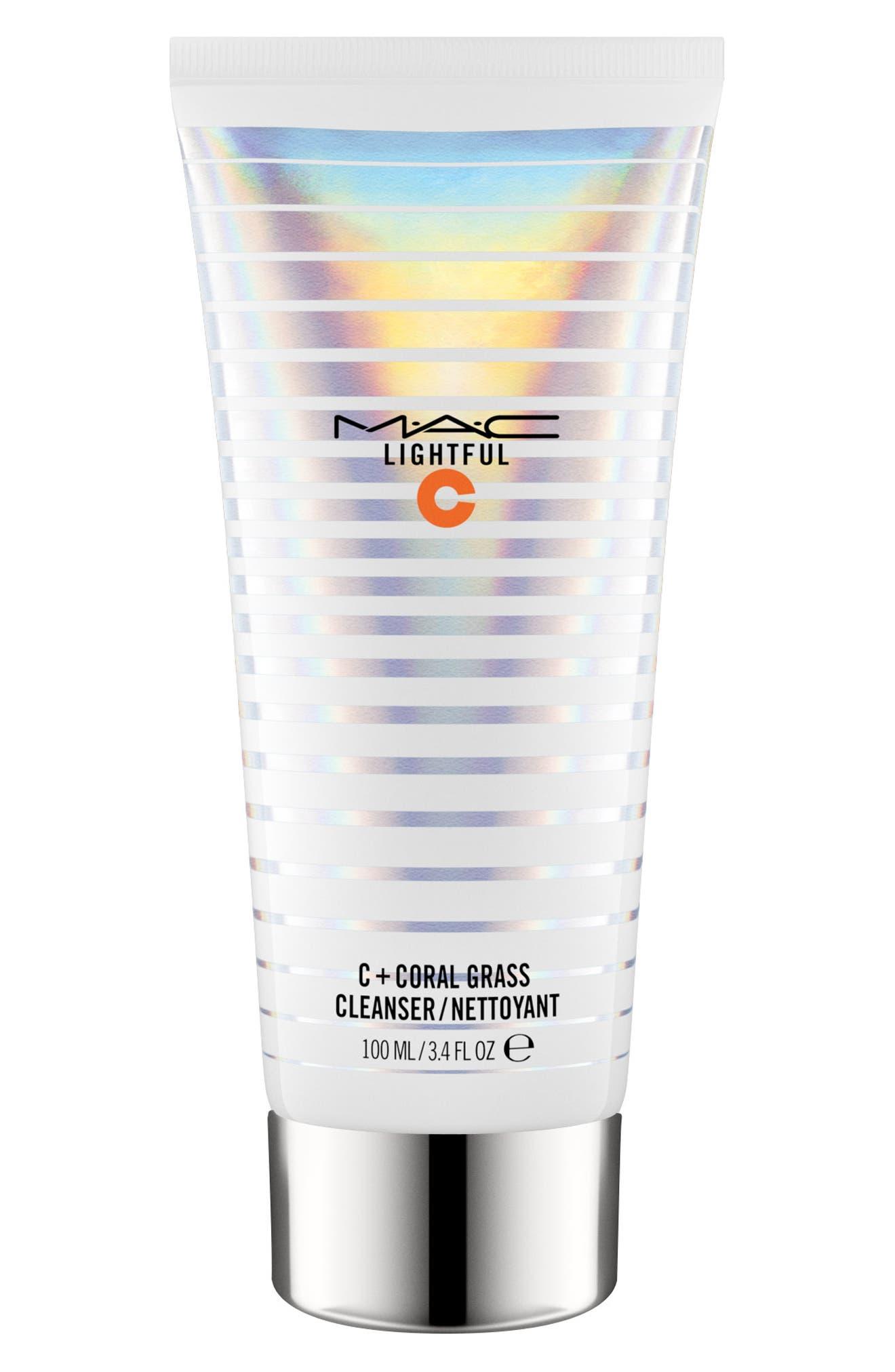 MAC Lightful C Coral Grass Cleanser,                         Main,                         color, NO COLOR