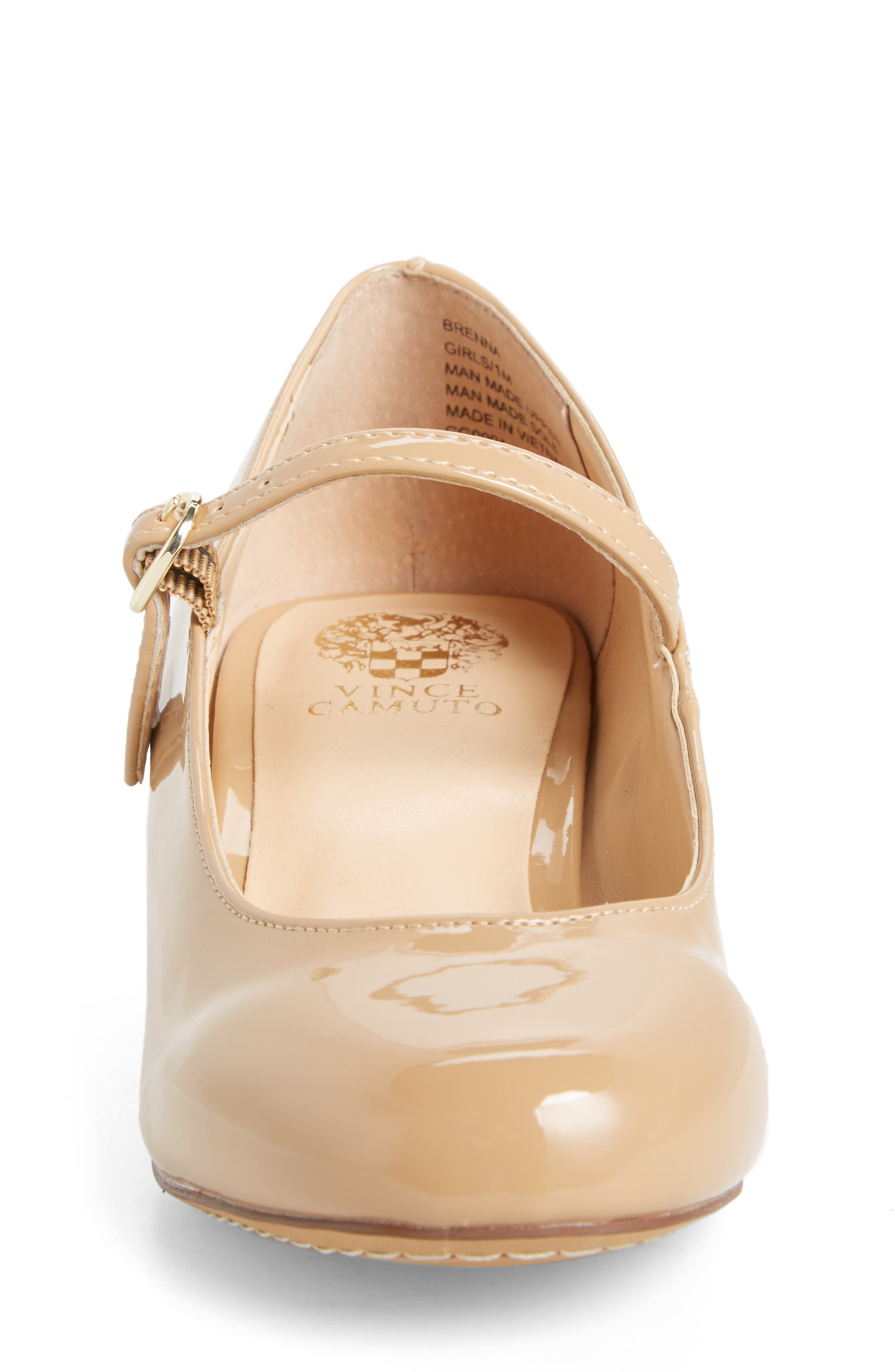 Brenna Mary Jane Pump,                             Alternate thumbnail 3, color,                             NUDE PATENT