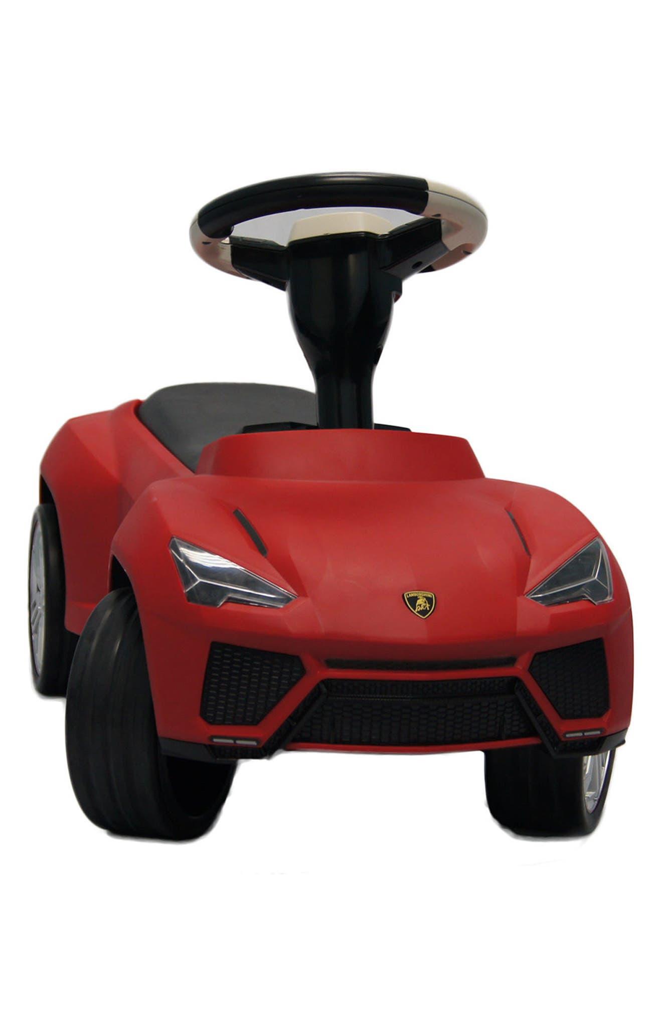 Lamborghini Urus Ride-On Push Car,                             Alternate thumbnail 3, color,                             600