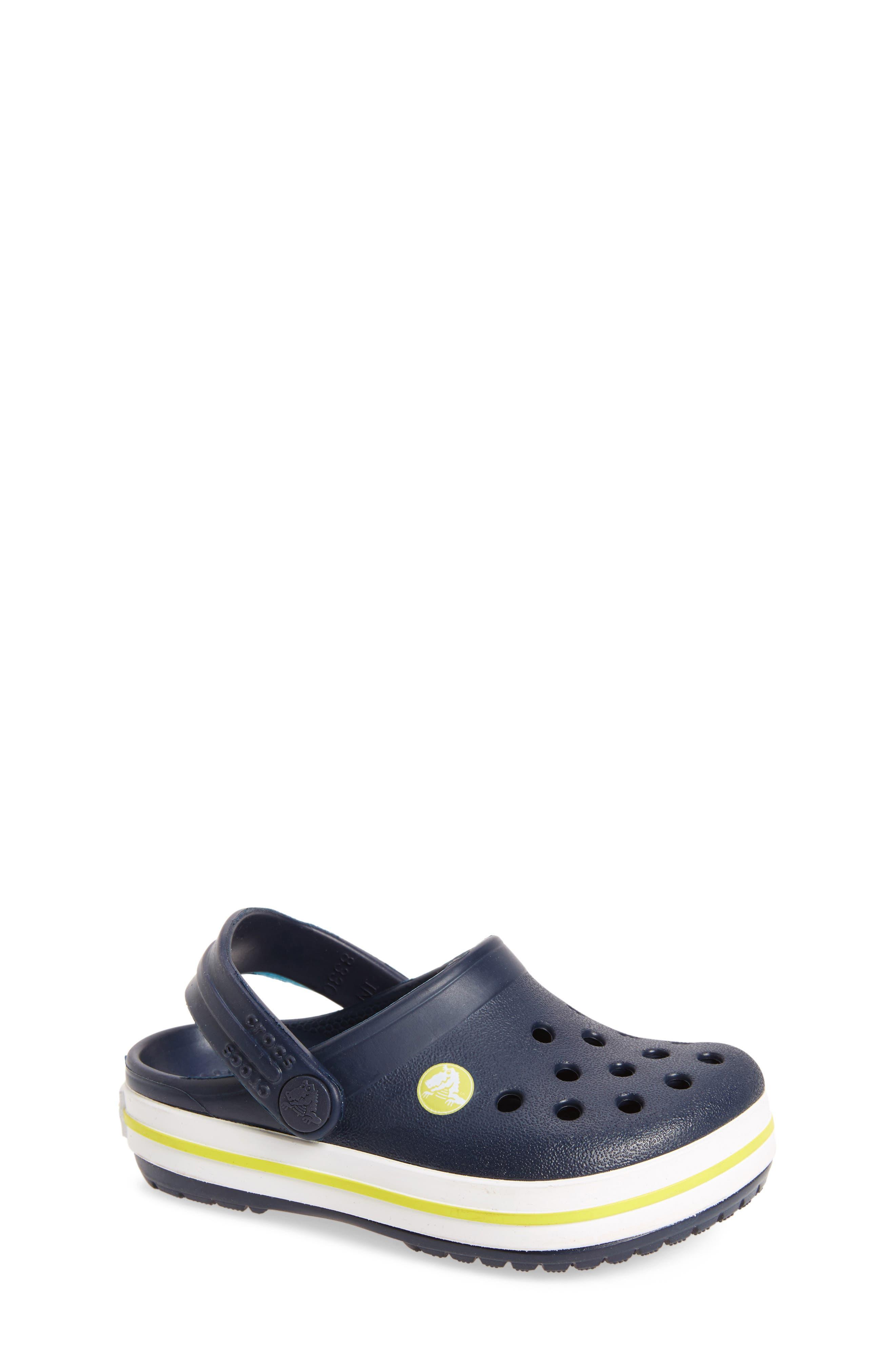 Toddler Crocs(TM) Crocband Clog Size 2 M  Blue