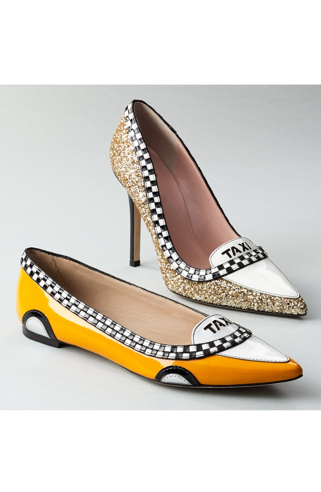 'go' flat,                             Alternate thumbnail 5, color,                             TAXI YELLOW PATENT