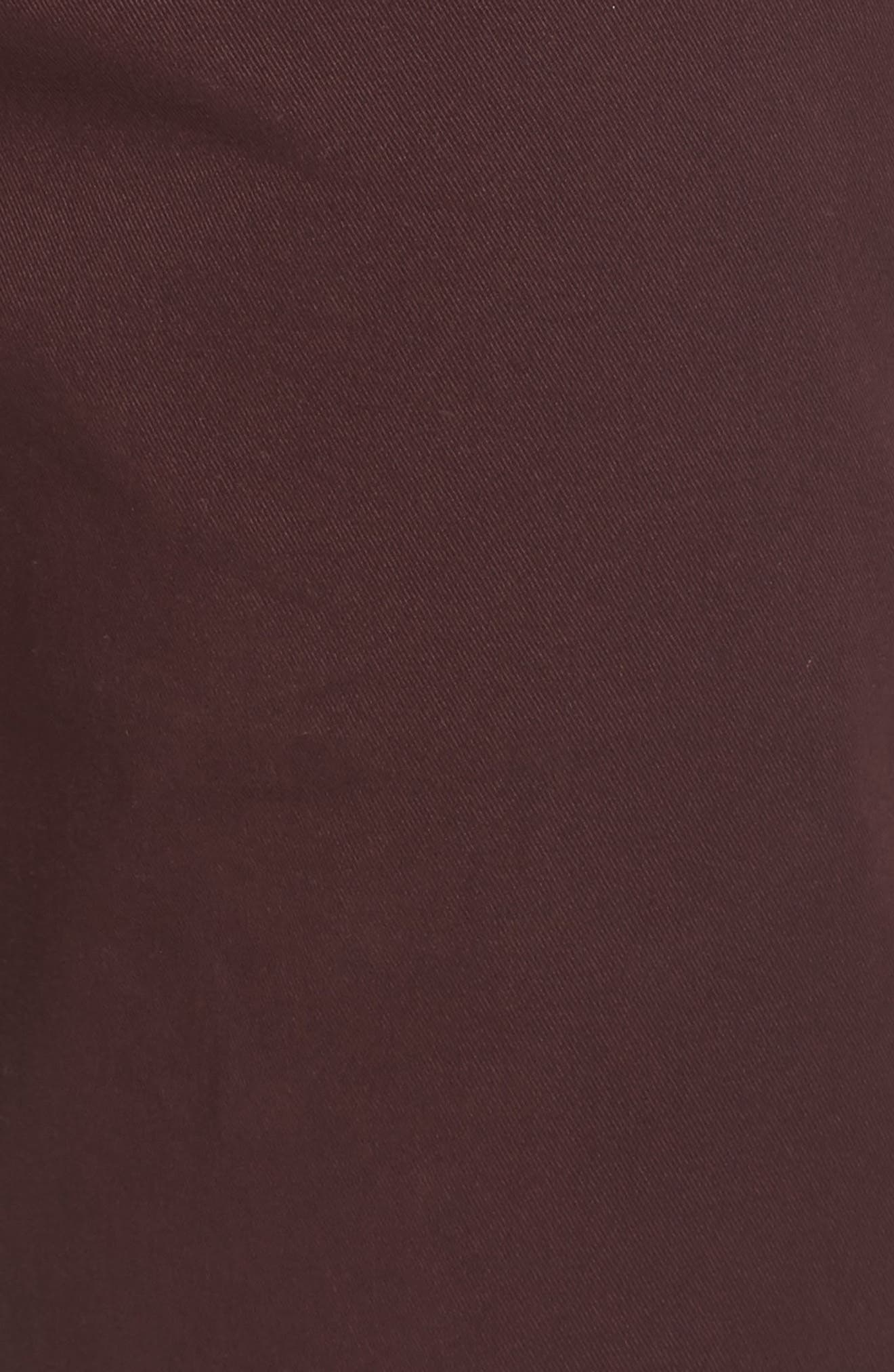 Tailored Fit Washed Stretch Cotton Chinos,                             Alternate thumbnail 163, color,