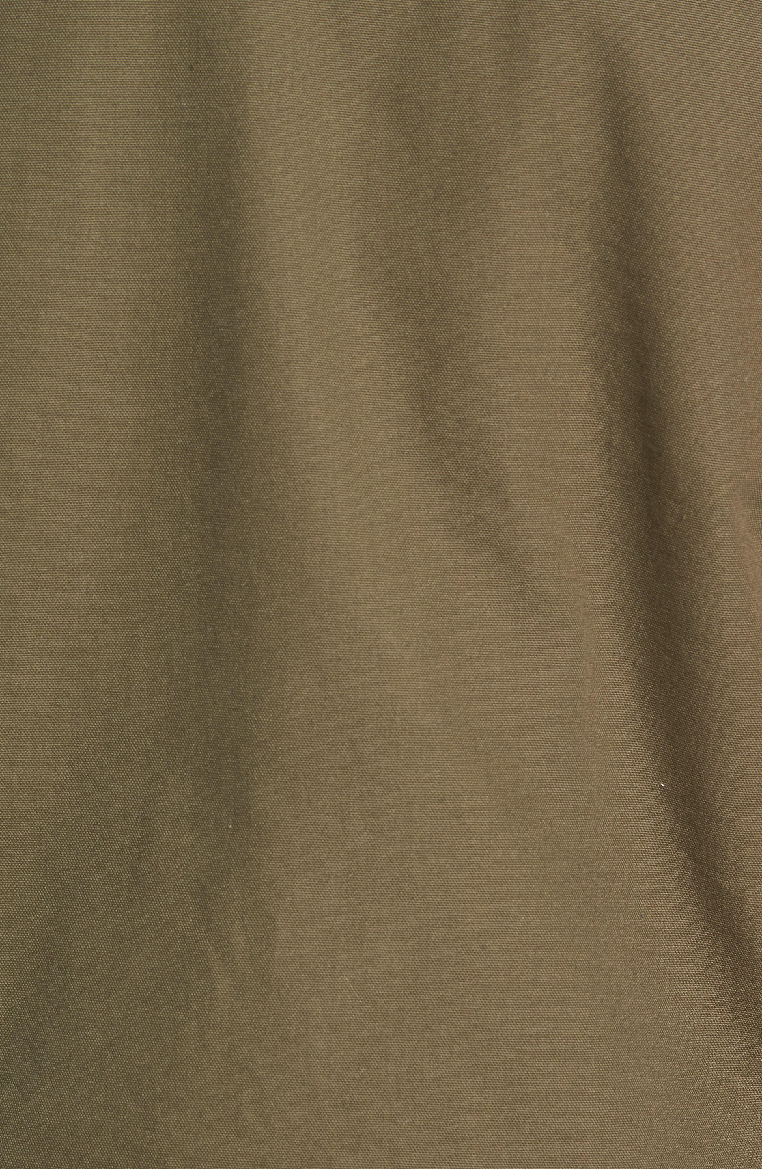 Alamitos Canvas Work Jacket,                             Alternate thumbnail 7, color,                             GRAPE LEAF