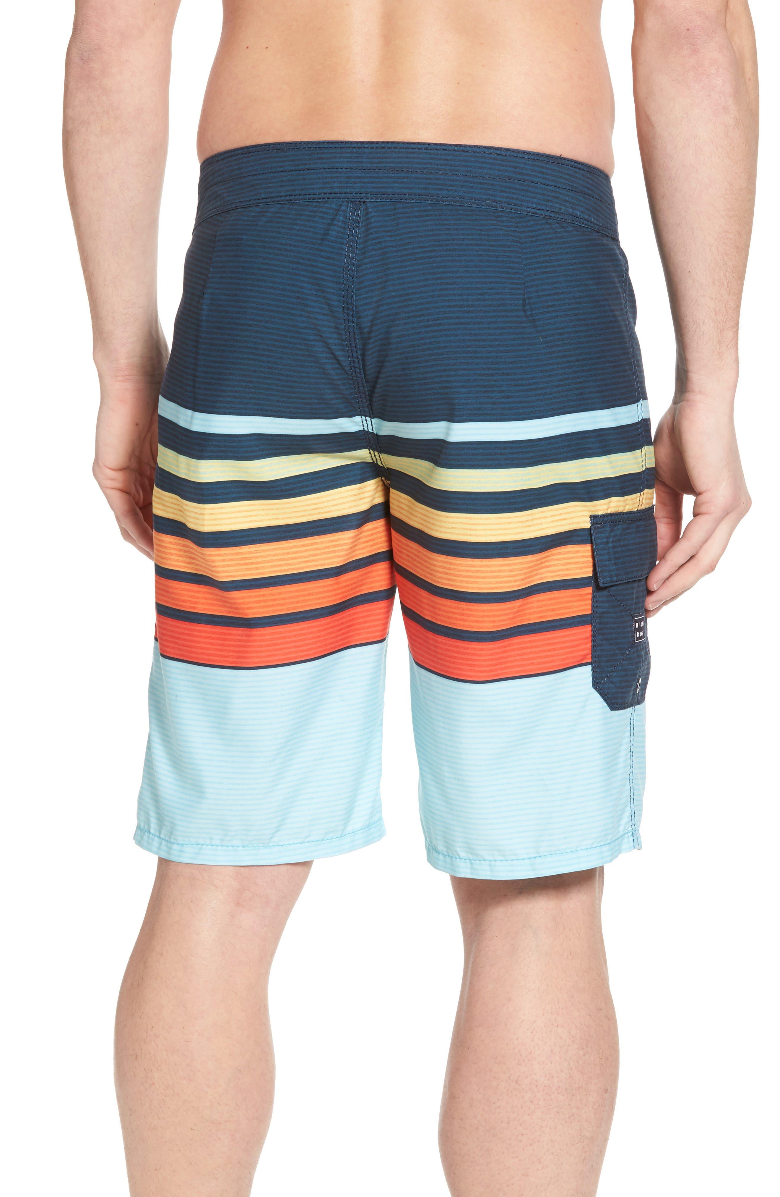 All Day OG Stripe Board Shorts,                             Alternate thumbnail 6, color,