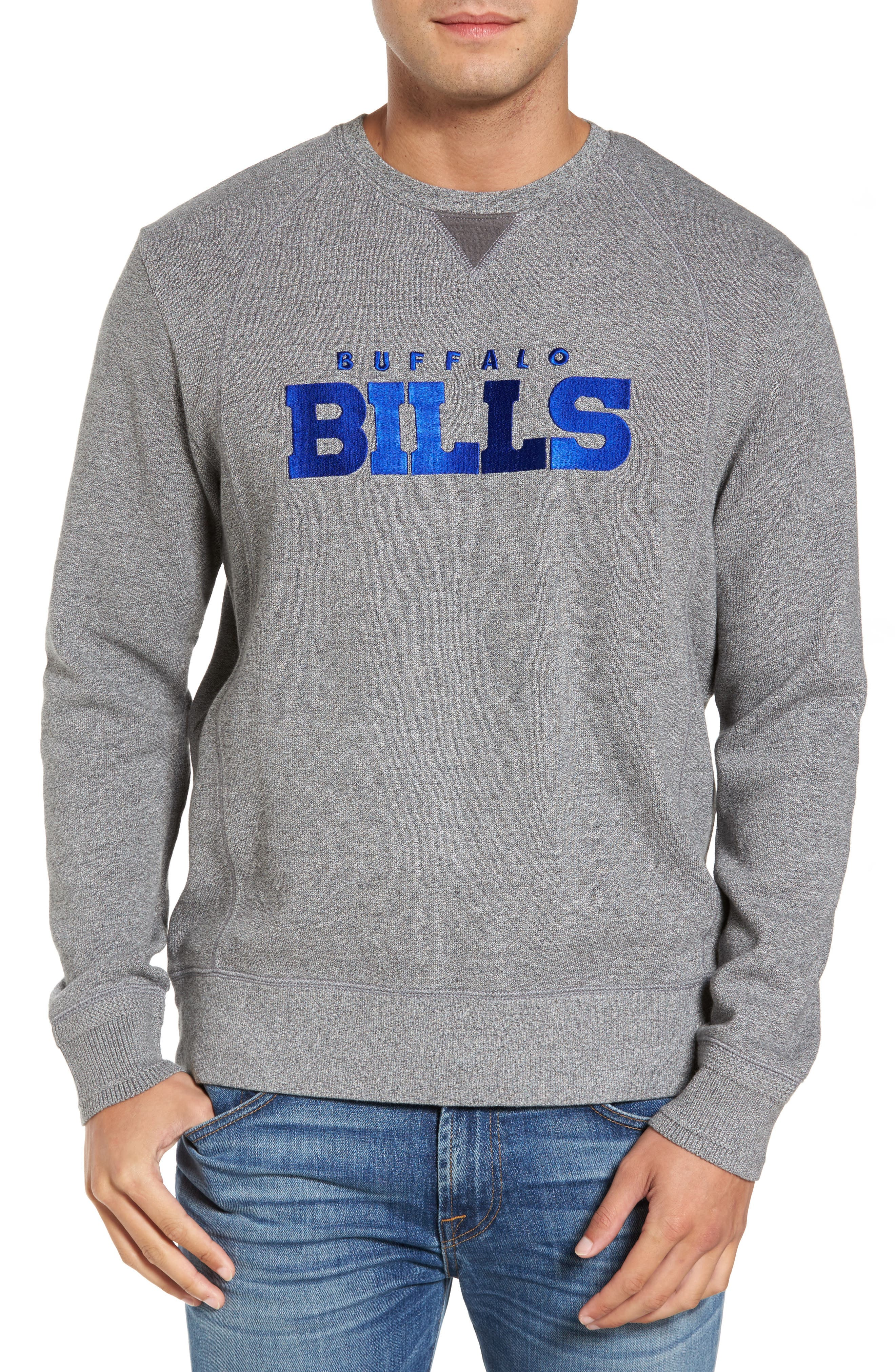 NFL Stitch of Liberty Embroidered Crewneck Sweatshirt,                             Main thumbnail 5, color,
