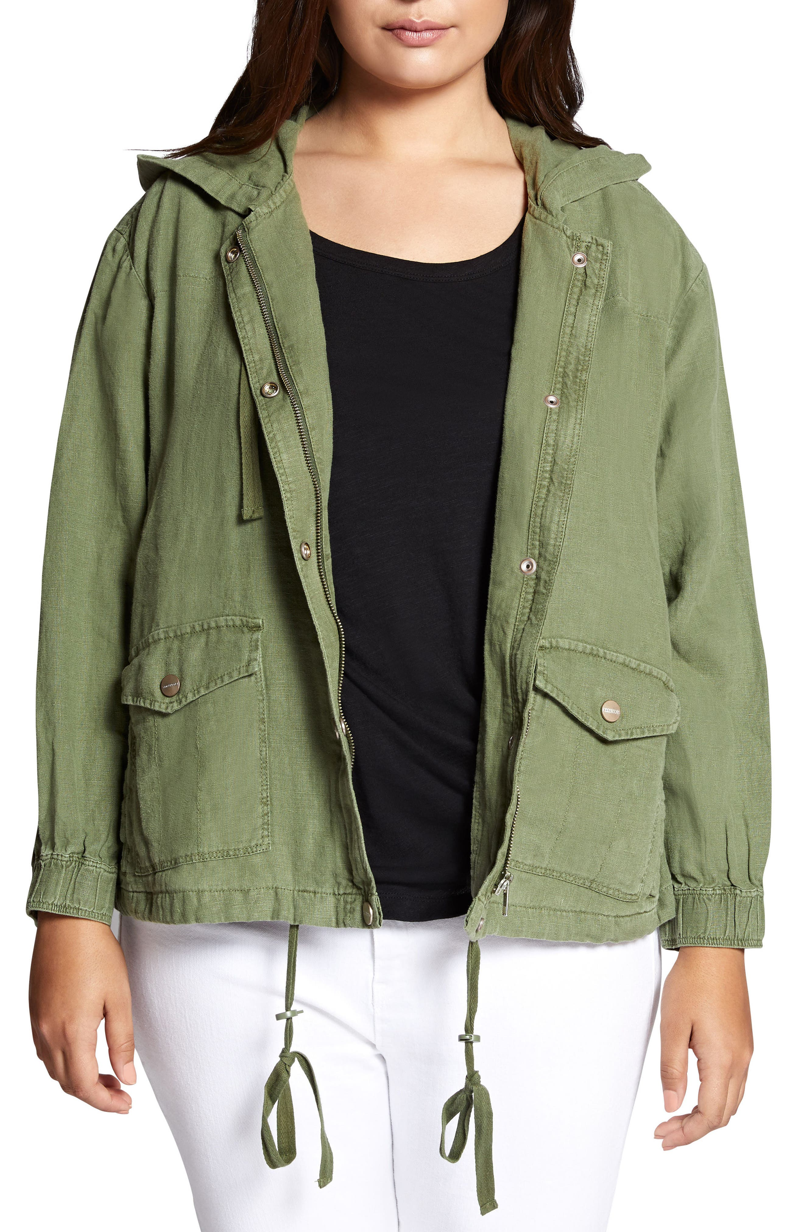 Nova Hooded Jacket,                         Main,                         color, CADET