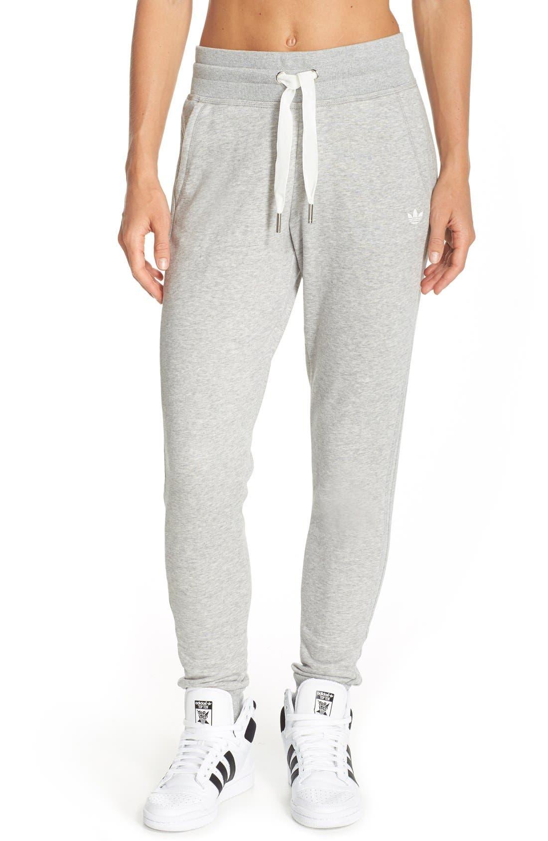 Slim Cuffed Track Pants, Main, color, 035