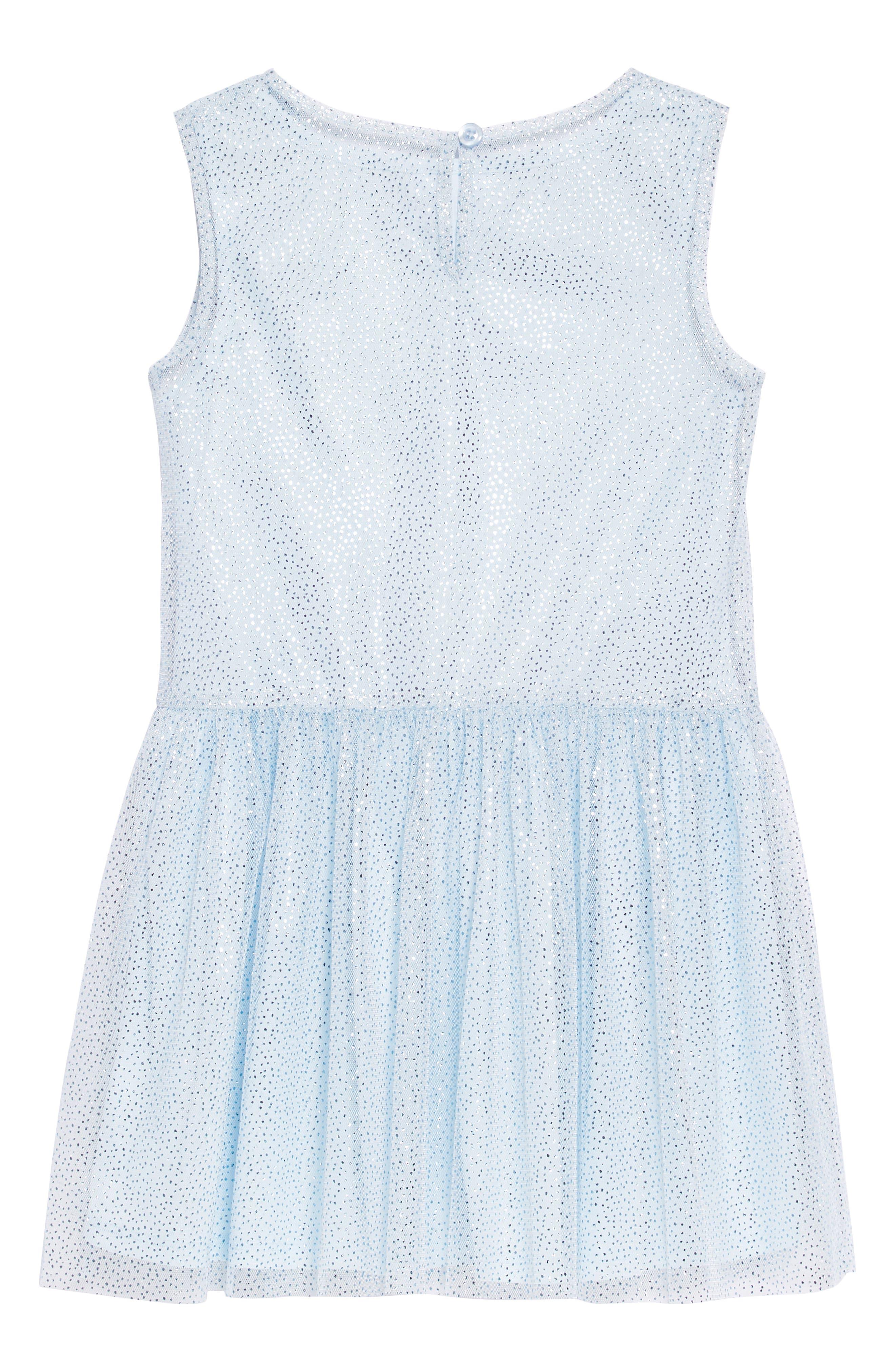Sparkle Mesh Overlay Dress,                             Alternate thumbnail 2, color,