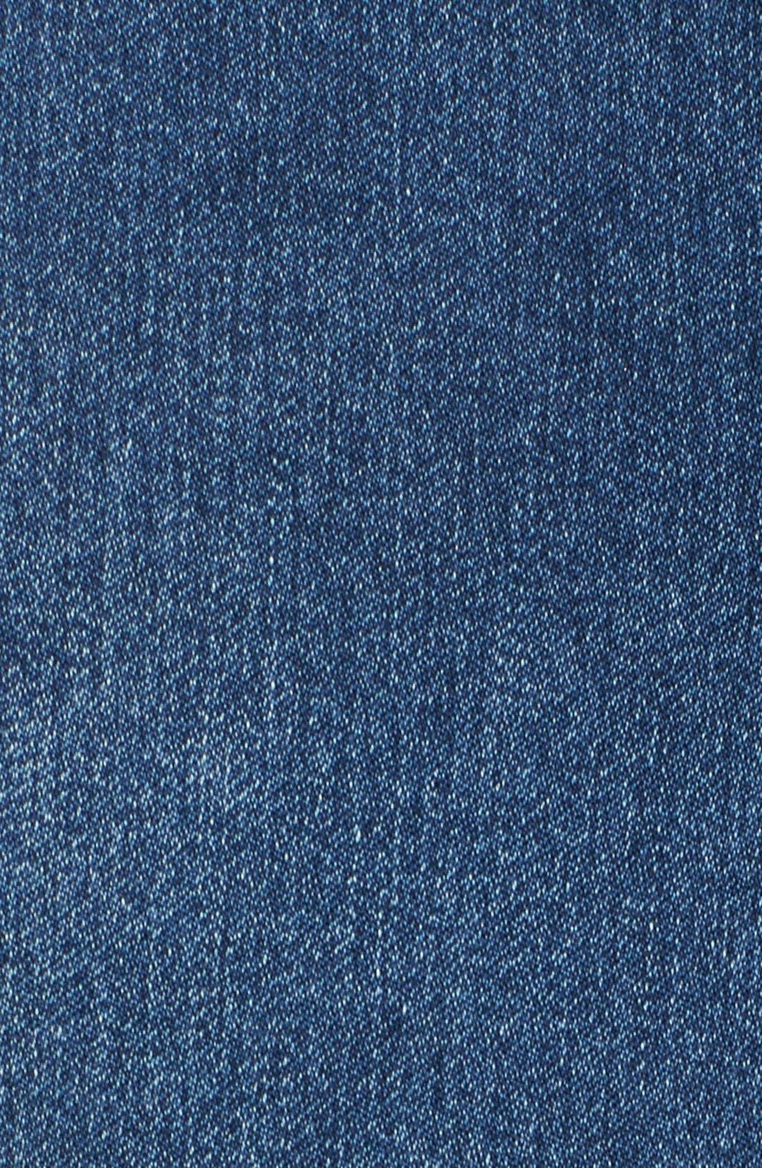 'Alina' Stretch Skinny Jeans,                             Alternate thumbnail 5, color,                             461