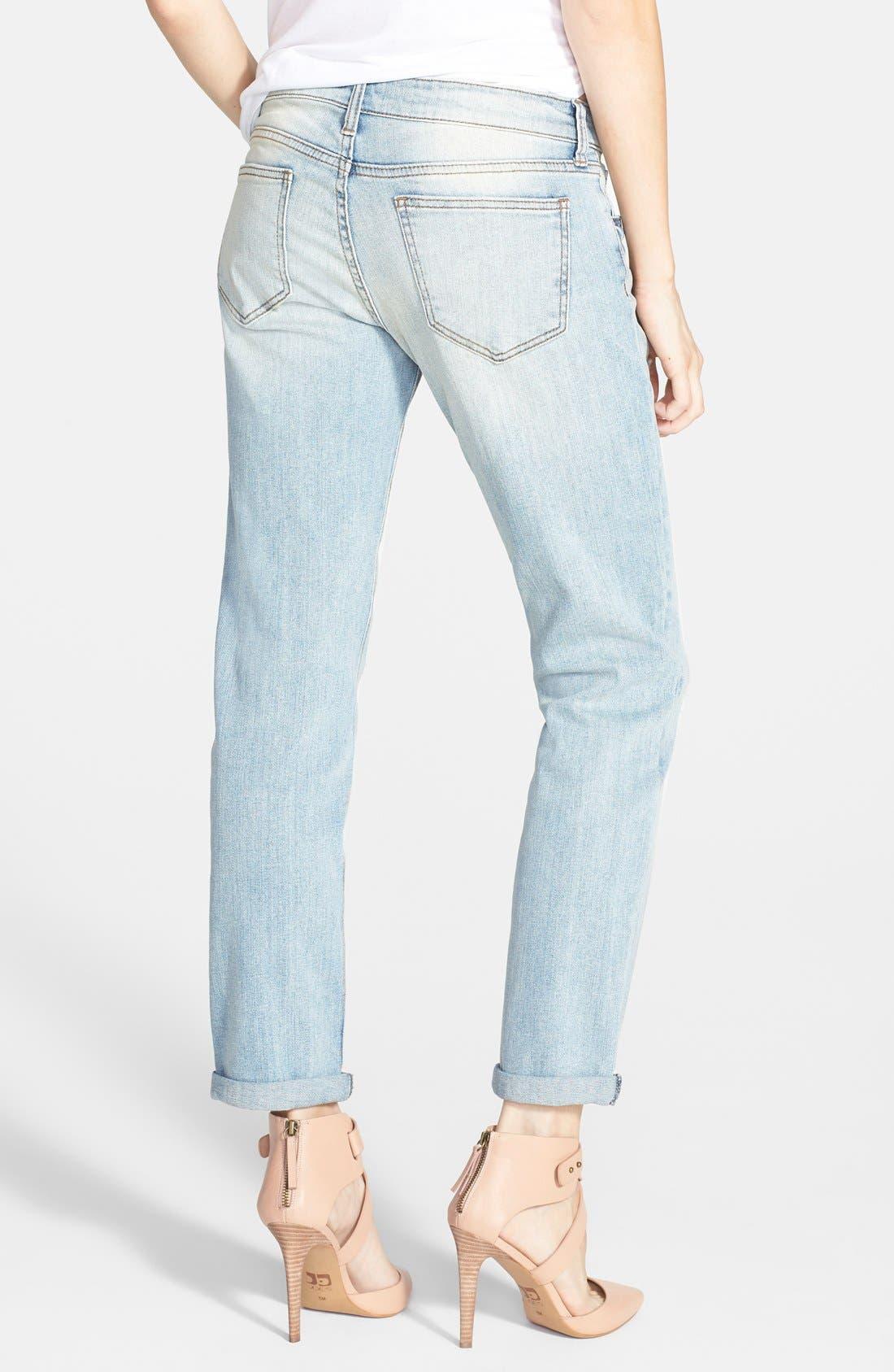 SUN & SHADOW,                             Destroyed Boyfriend Jeans,                             Alternate thumbnail 2, color,                             450