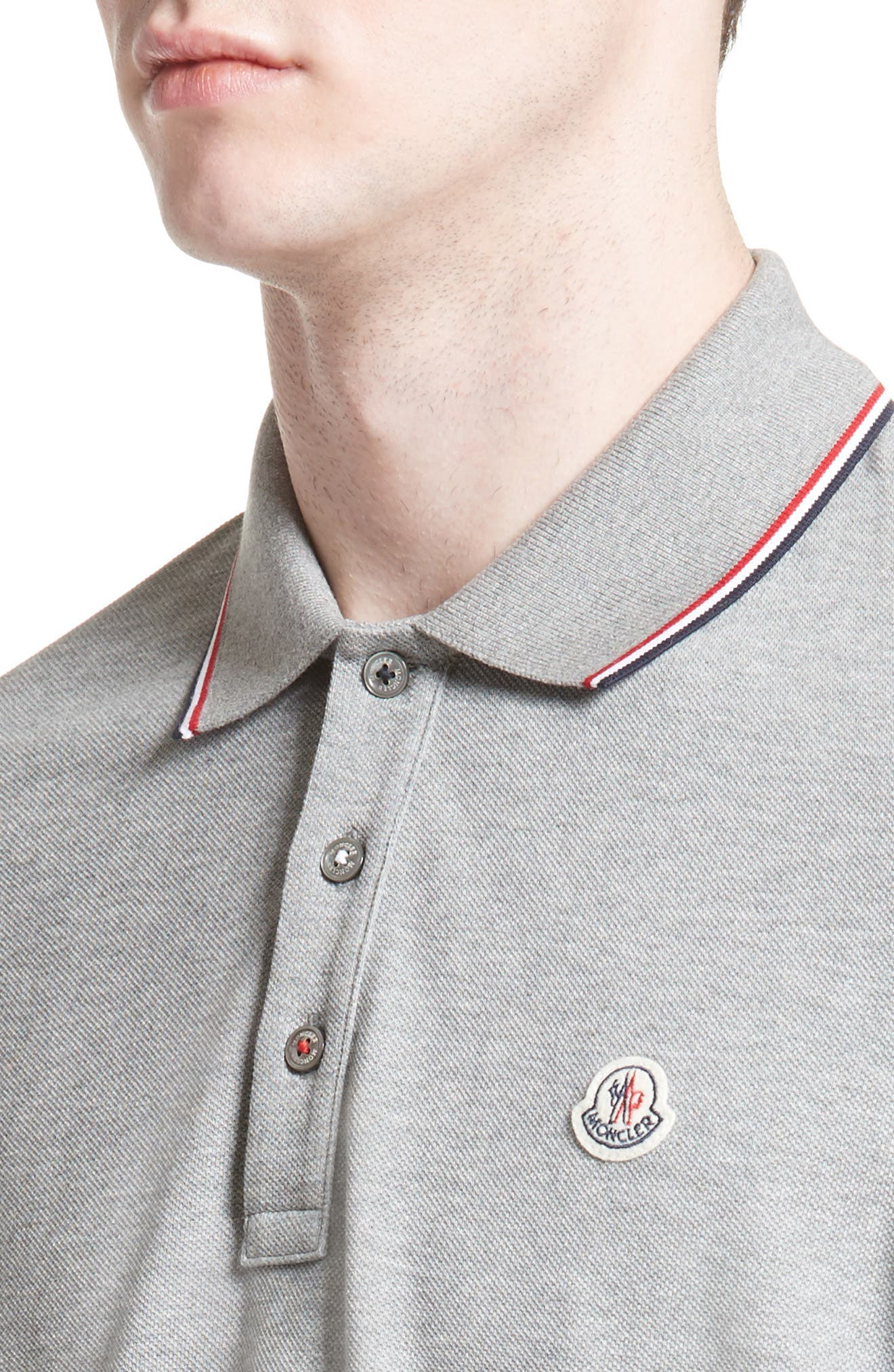 Maglia Long Sleeve Polo,                             Alternate thumbnail 4, color,                             030