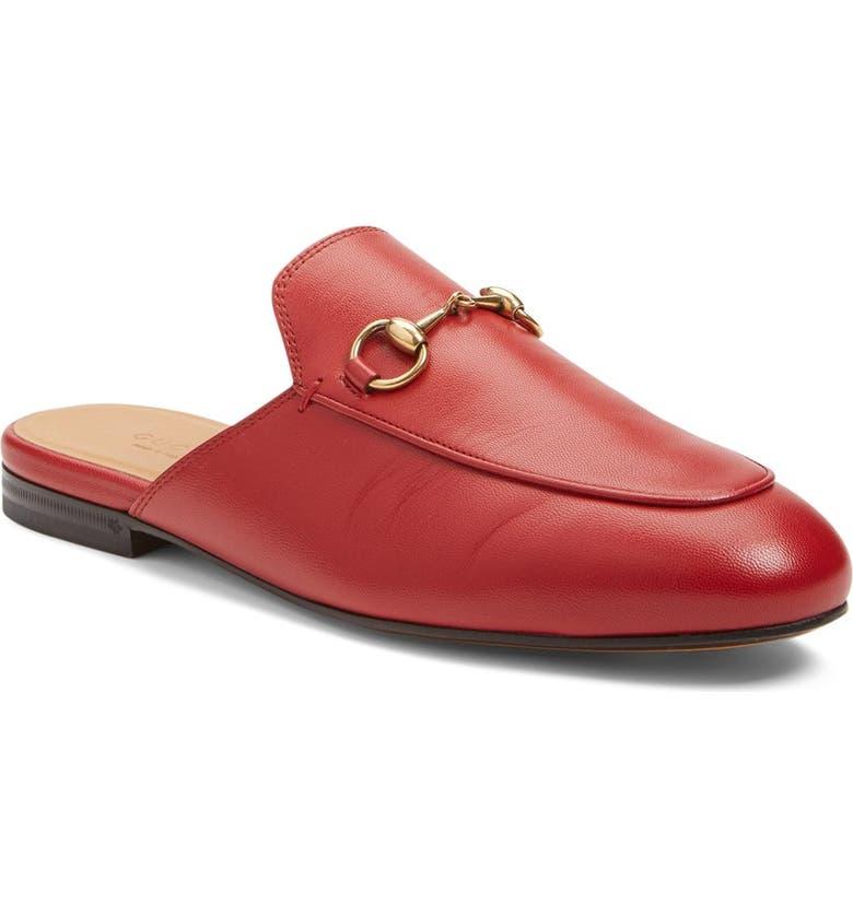 Gucci Princetown Loafer Mule (Women)  8deb36729
