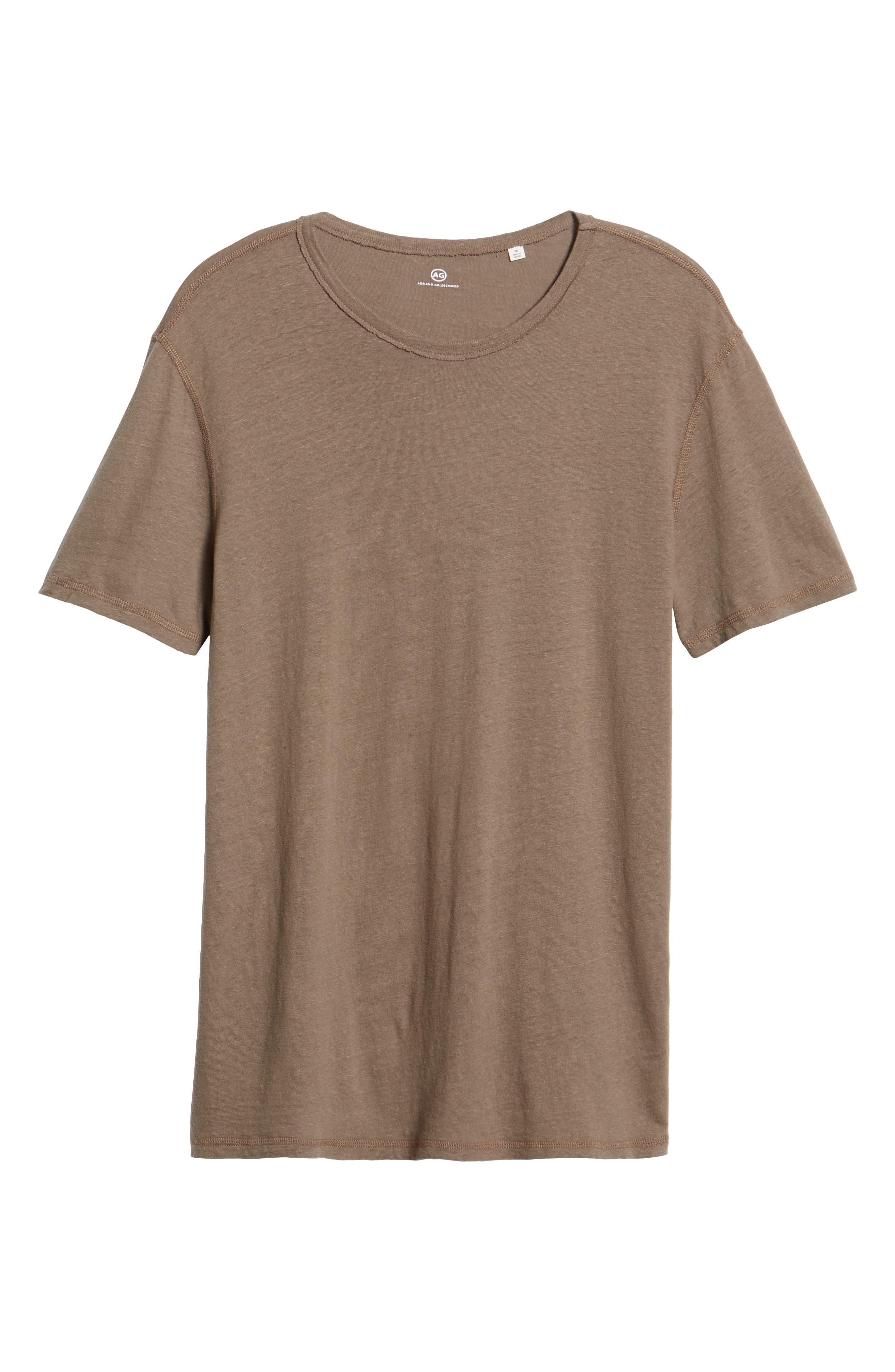 Ramsey Slim Fit Crewneck T-Shirt,                             Alternate thumbnail 6, color,                             WEATHERED WET
