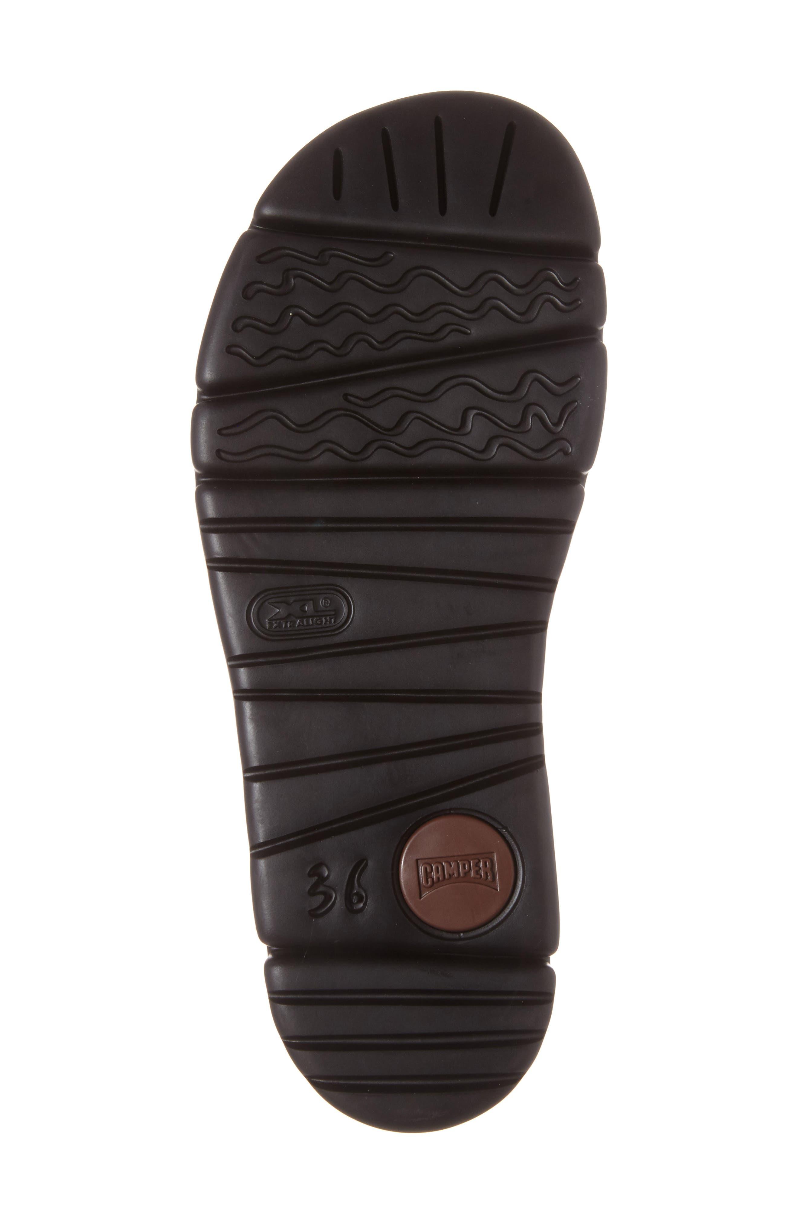 'Oruga' Two Strap Slide Sandal,                             Alternate thumbnail 4, color,                             BLACK