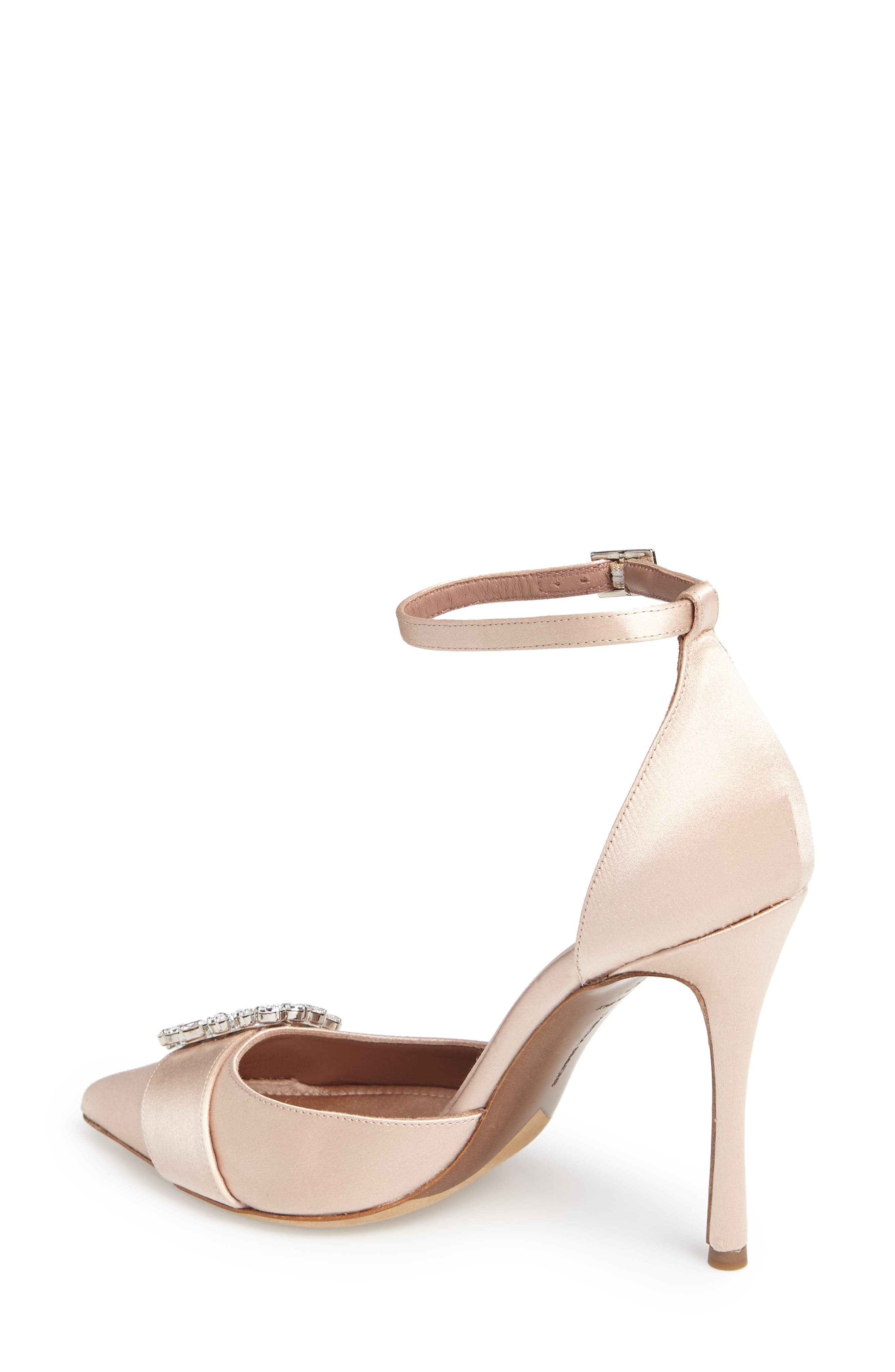 Tie The Knot Crystal Buckle Pump,                             Alternate thumbnail 2, color,                             250