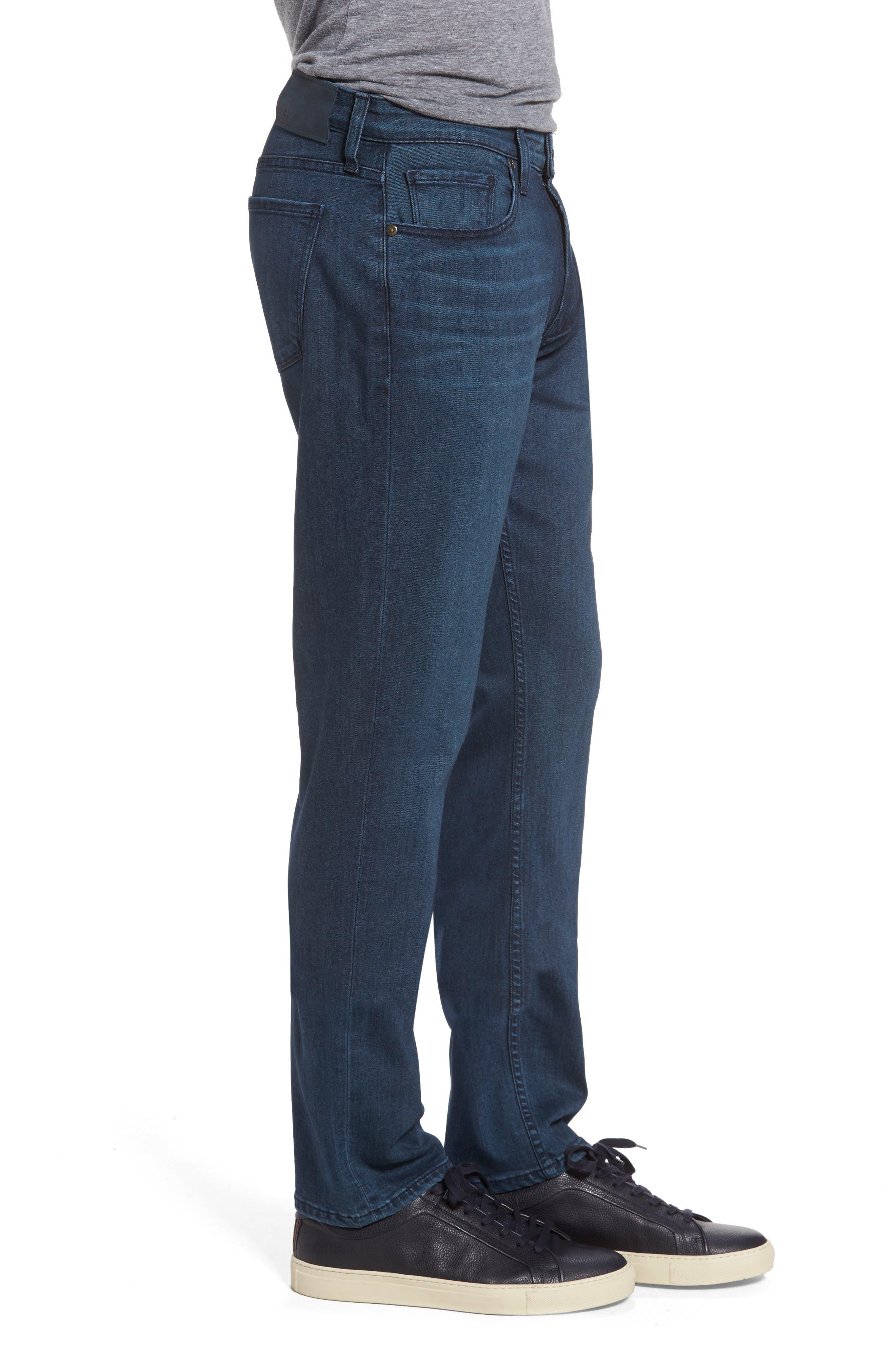 Transcend - Federal Slim Straight Fit Jeans,                             Alternate thumbnail 3, color,                             400
