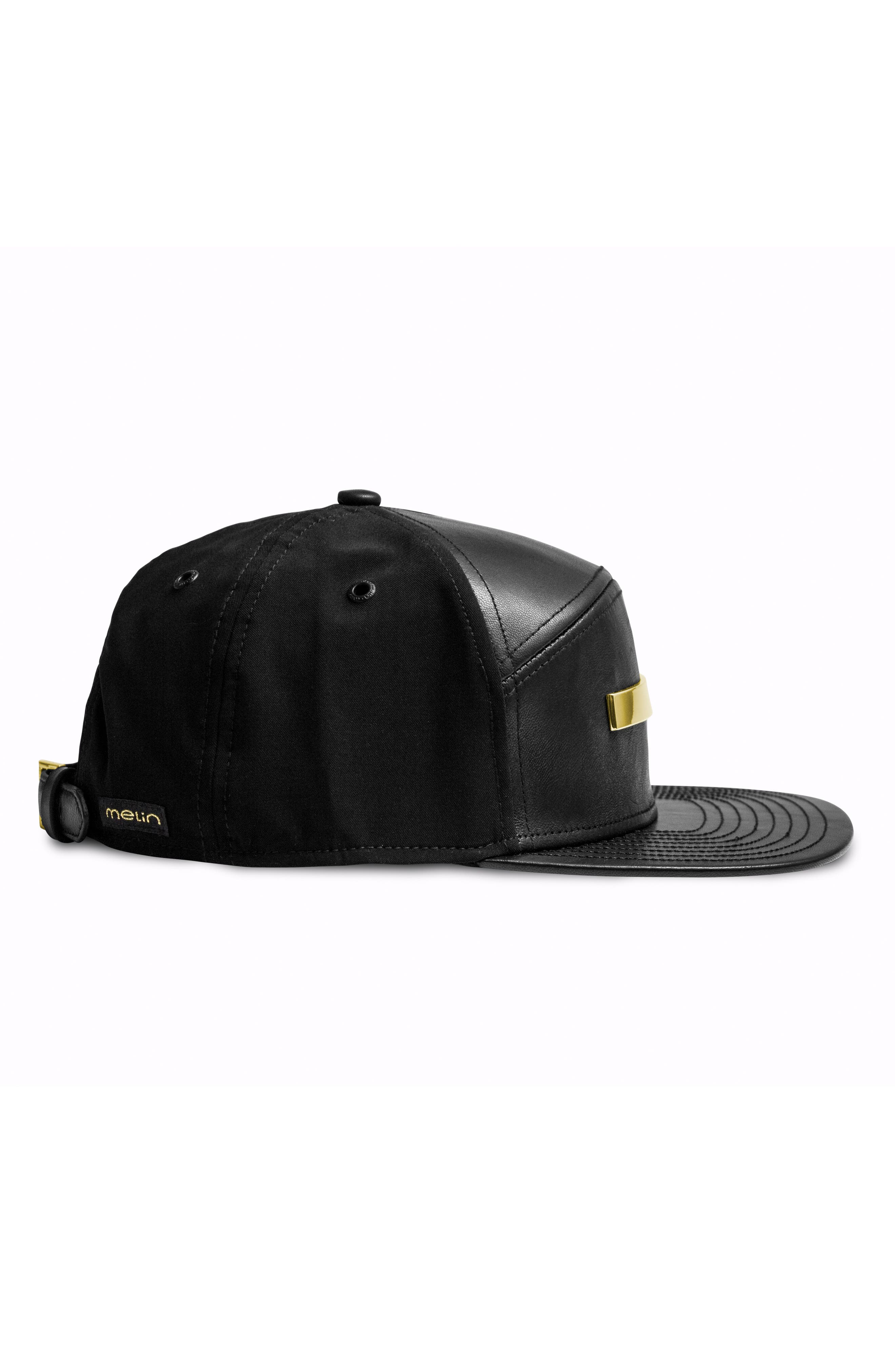 The Bar Baseball Cap,                             Alternate thumbnail 4, color,                             BLACK GOLD