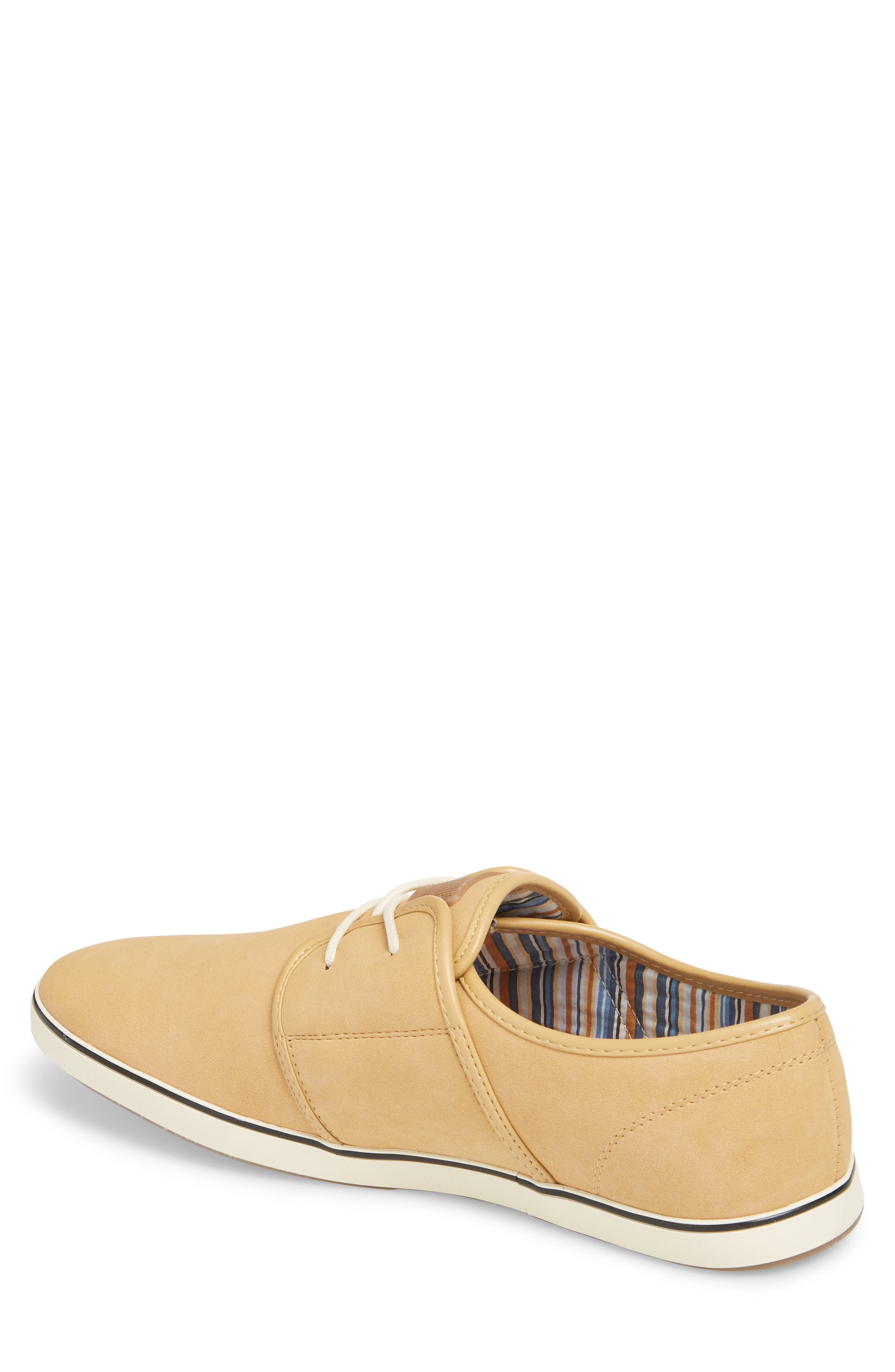 Fish 'N' Chips Surrey Low Top Sneaker,                             Alternate thumbnail 2, color,                             SOFT BROWN FAUX SUEDE